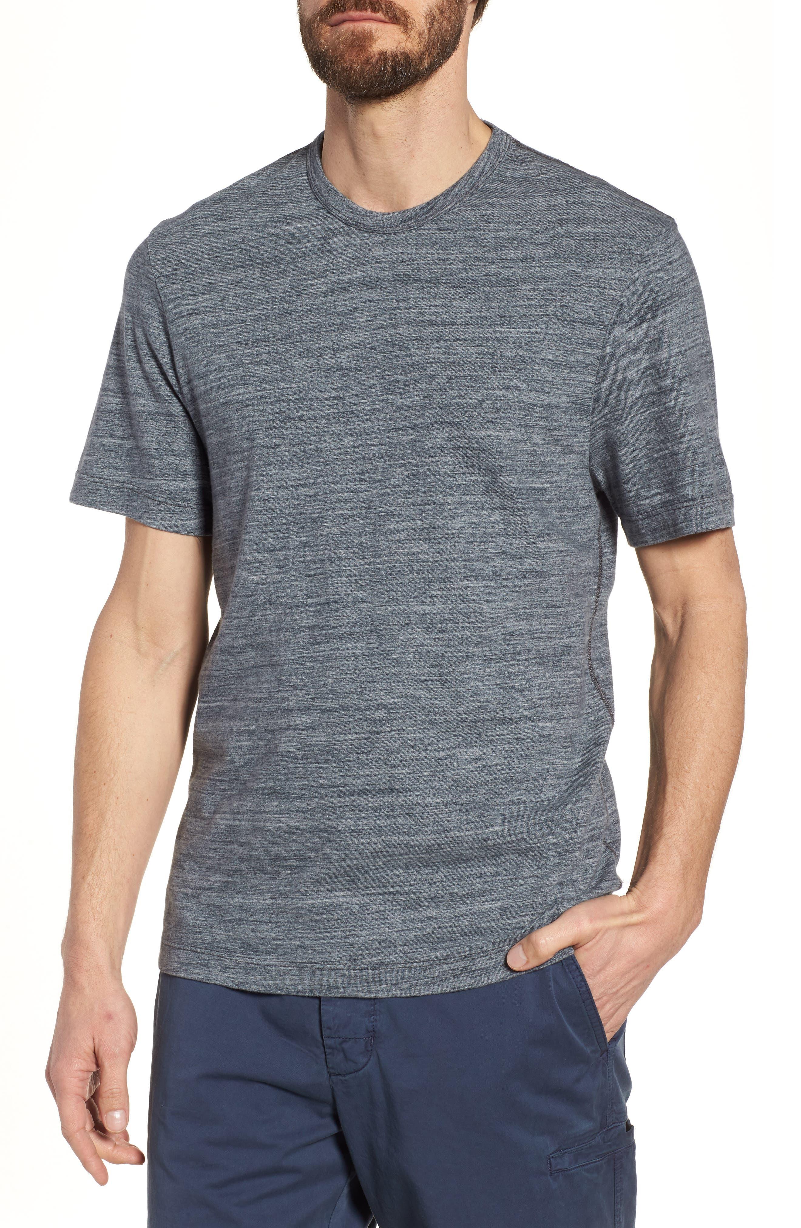 Regular Fit Top Dyed Crewneck T-Shirt,                         Main,                         color,
