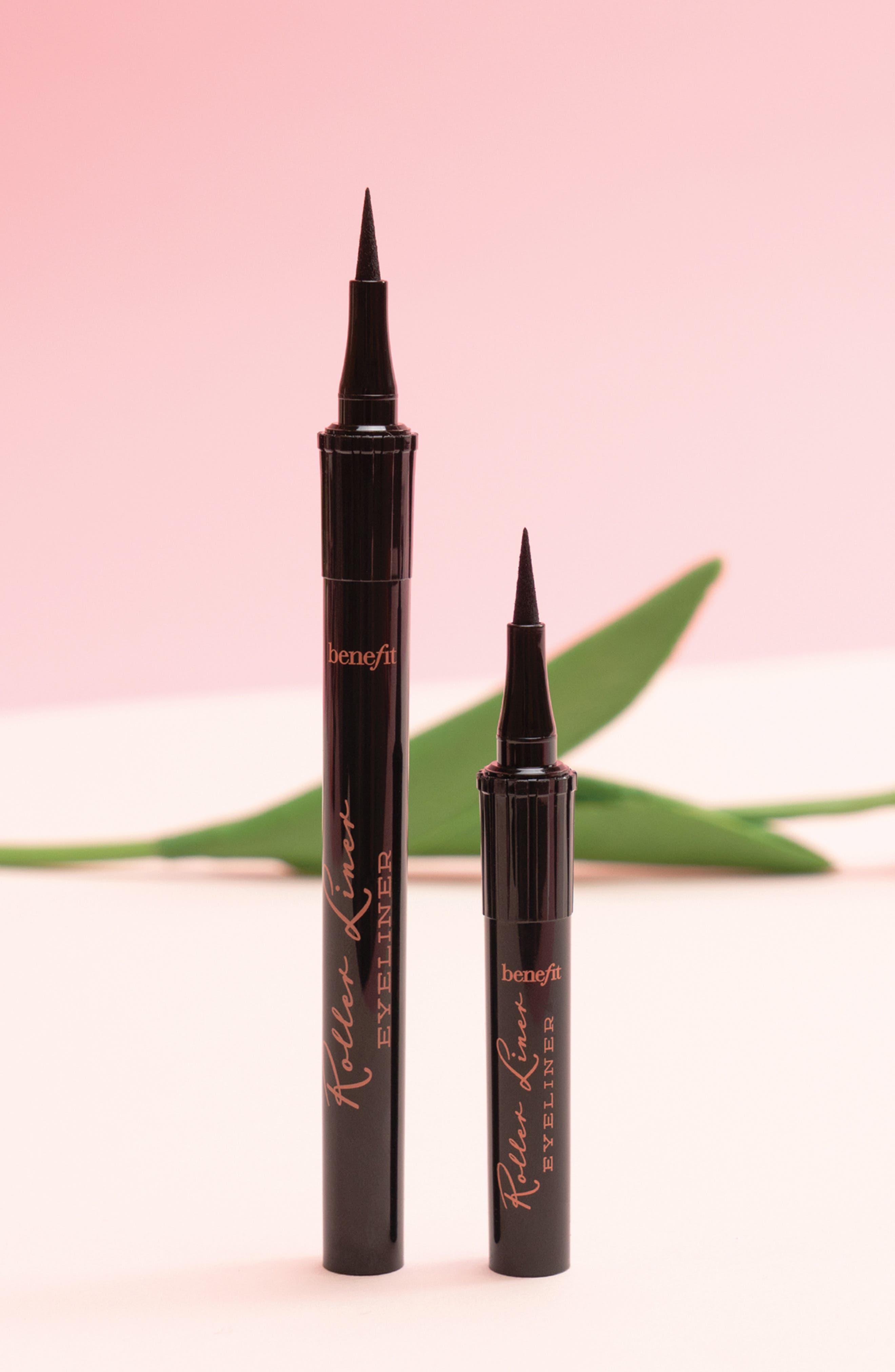 Benefit Roller Liner Matte Liquid Eyeliner,                             Alternate thumbnail 8, color,                             BLACK
