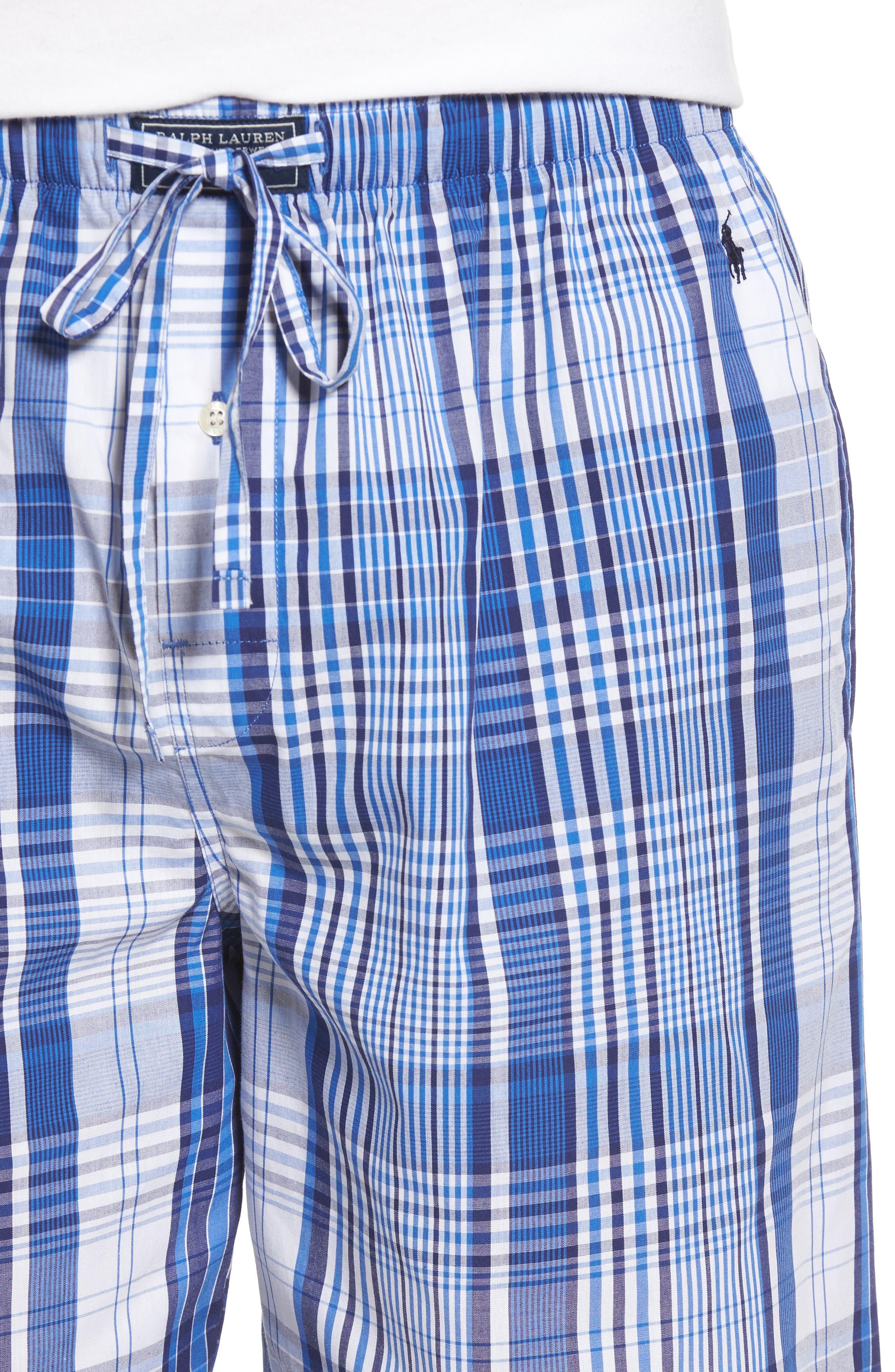 Cotton Pajama Shorts,                             Alternate thumbnail 4, color,                             406