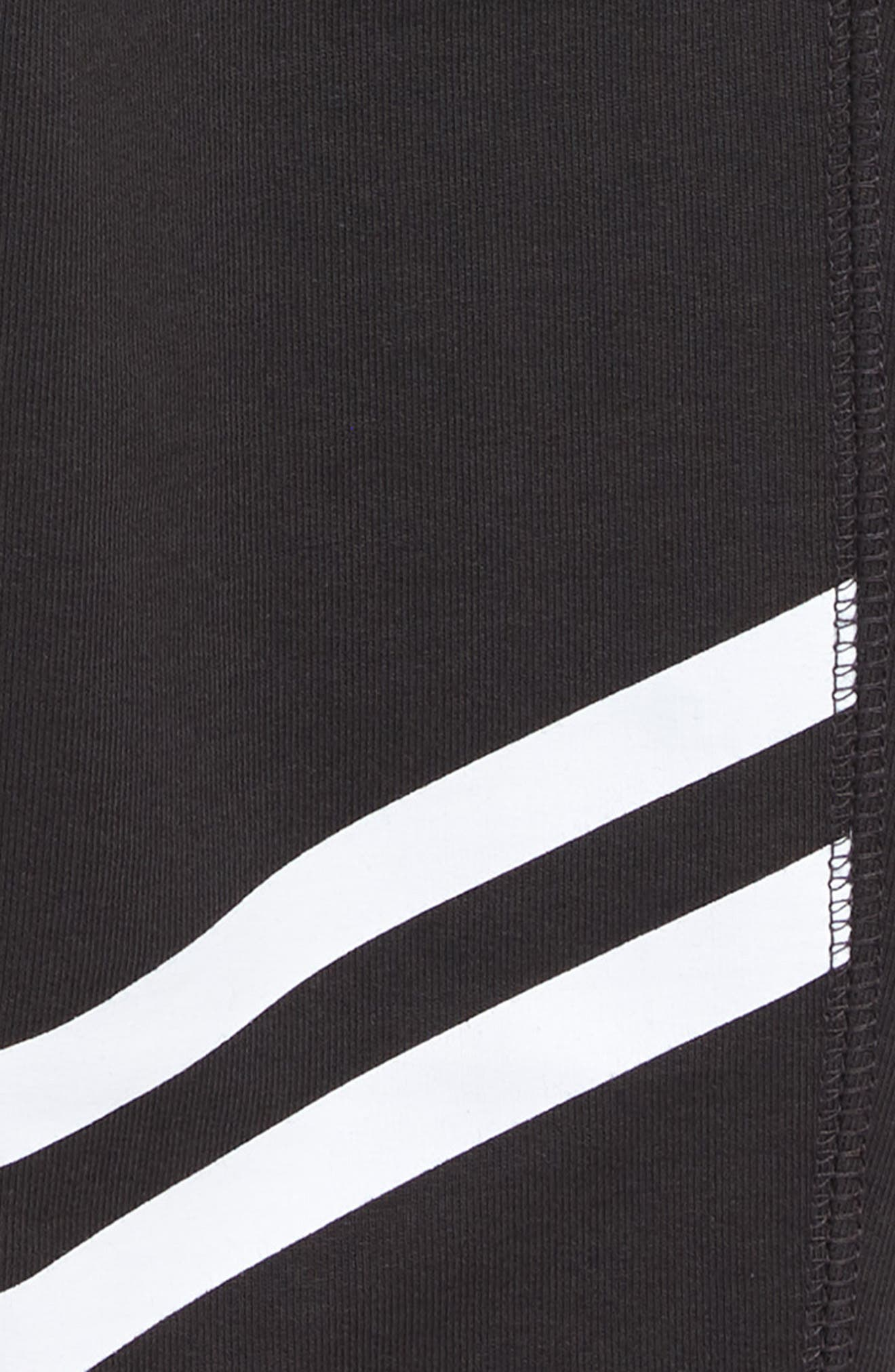 Sporty Stripe Jogger Pants,                             Alternate thumbnail 3, color,                             PHANTOM