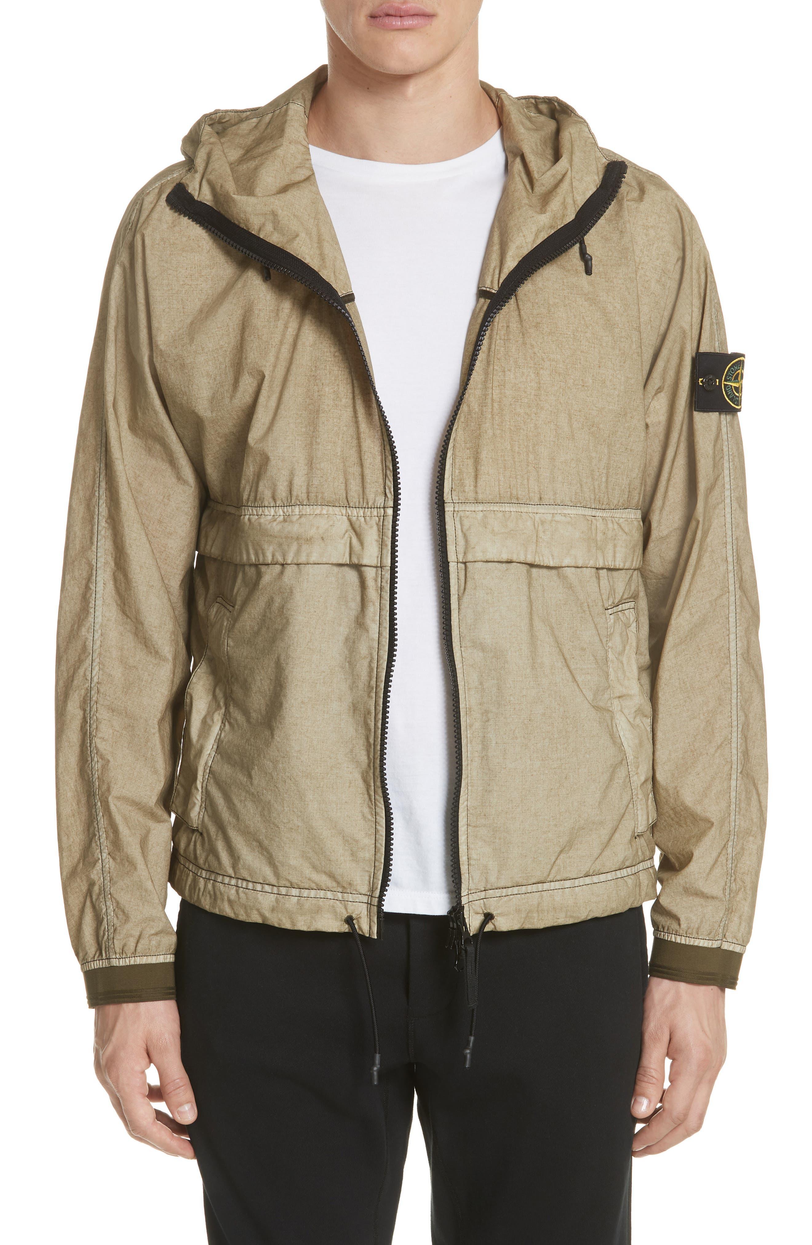 Poplin Hooded Jacket,                             Main thumbnail 2, color,