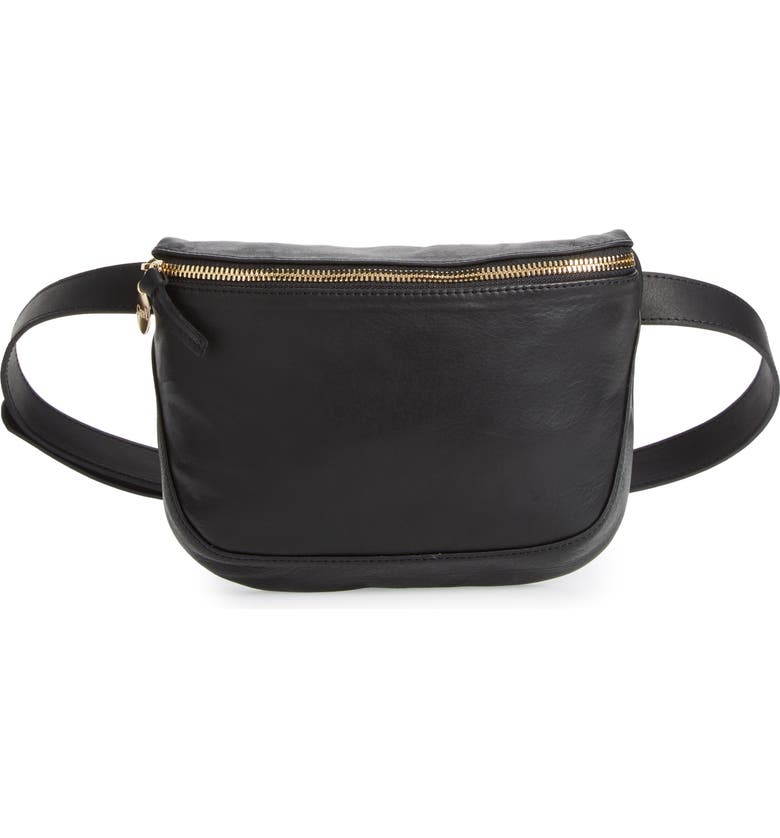 Clare V LEATHER FANNY PACK