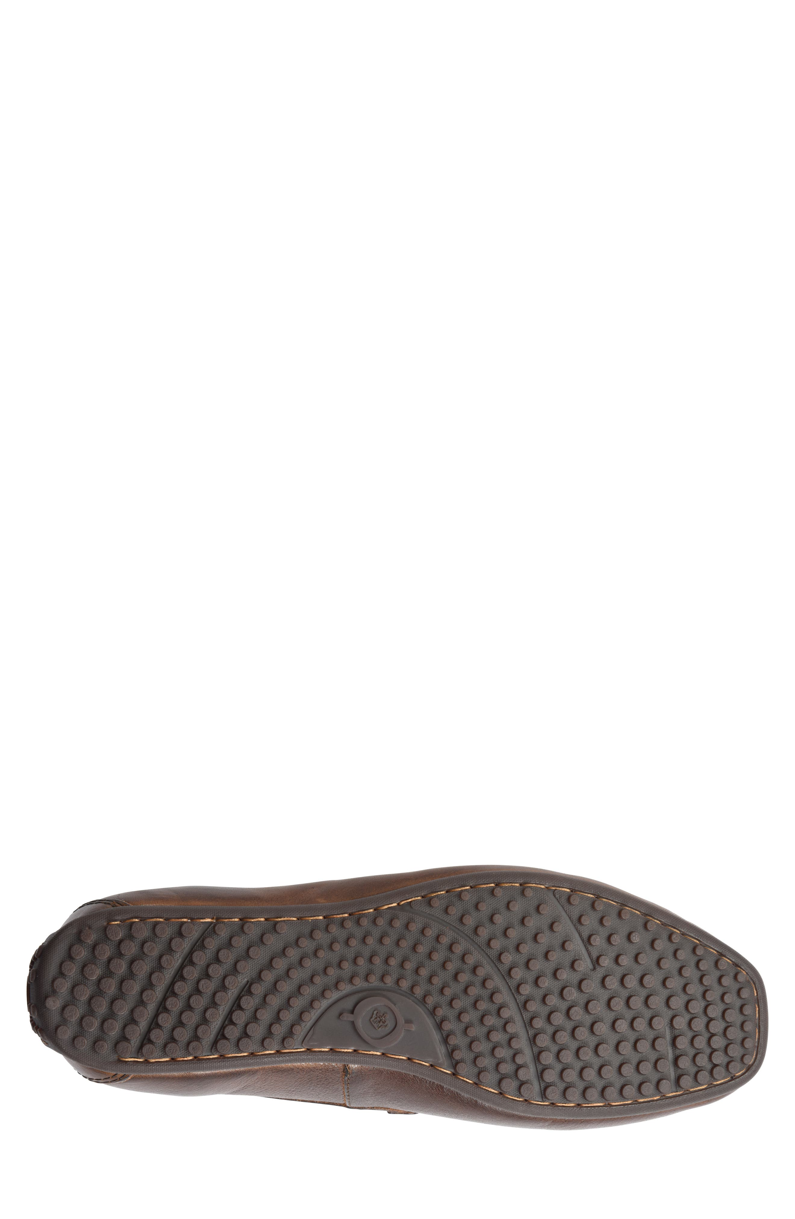 Ratner Driving Loafer,                             Alternate thumbnail 6, color,                             BROWN LEATHER