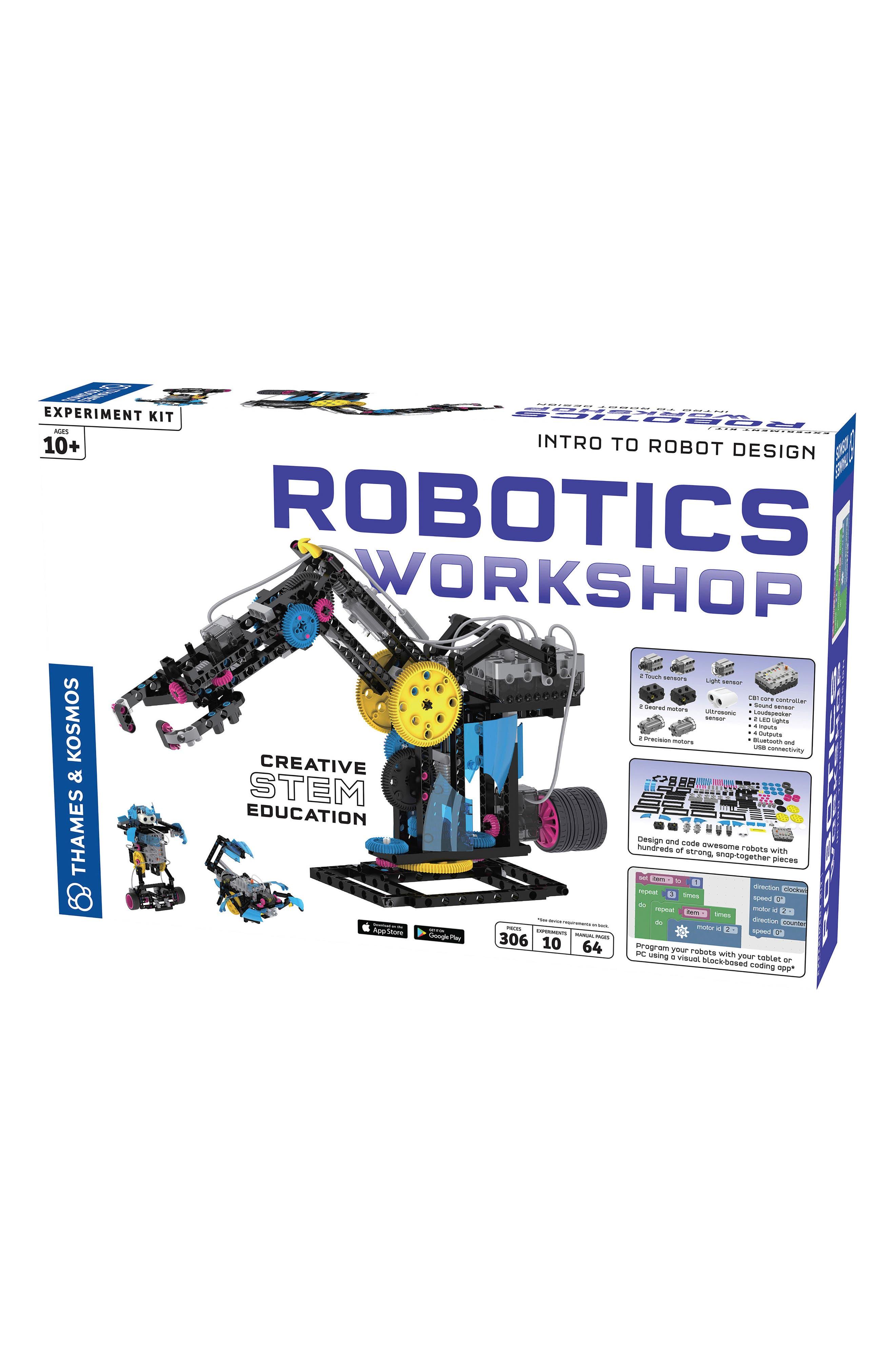 Robotics Building Kit,                             Alternate thumbnail 6, color,                             NO COLOR