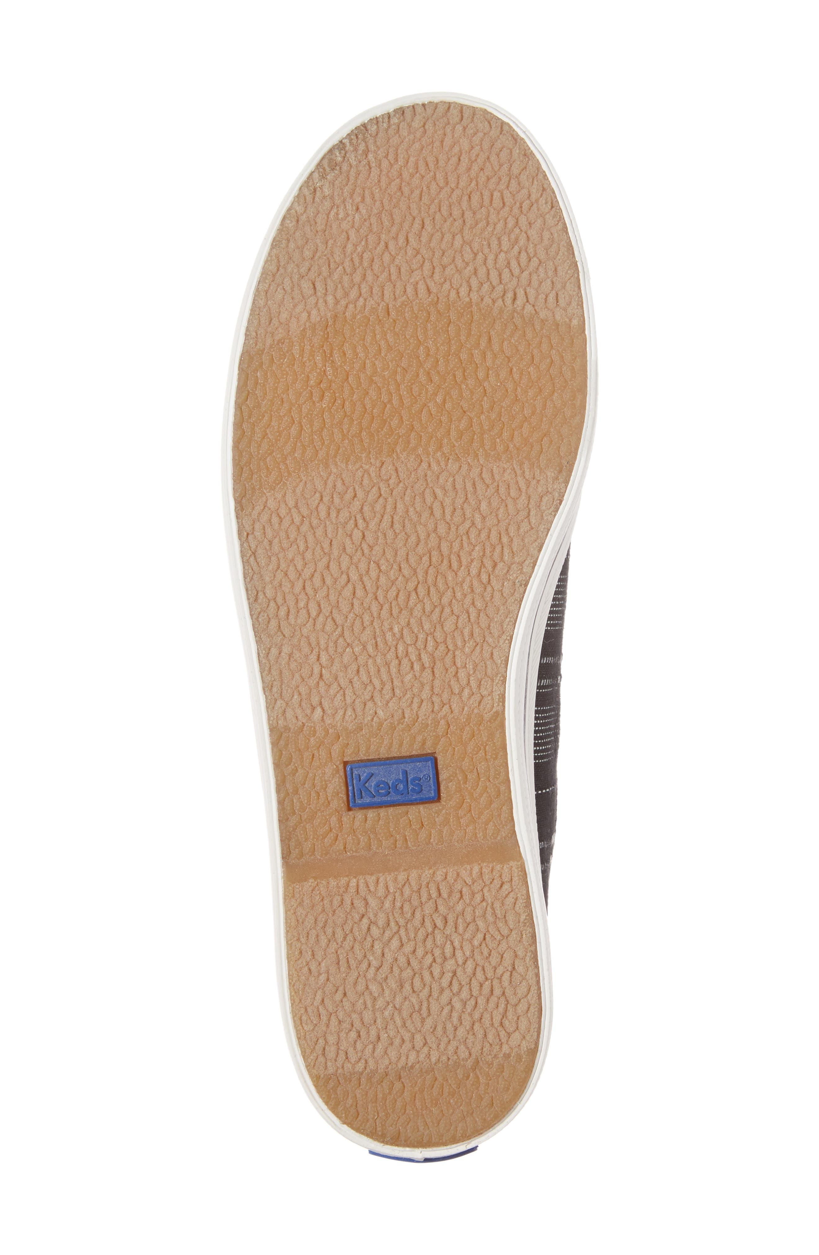 Kickstart Baja Stripe Sneaker,                             Alternate thumbnail 6, color,                             001