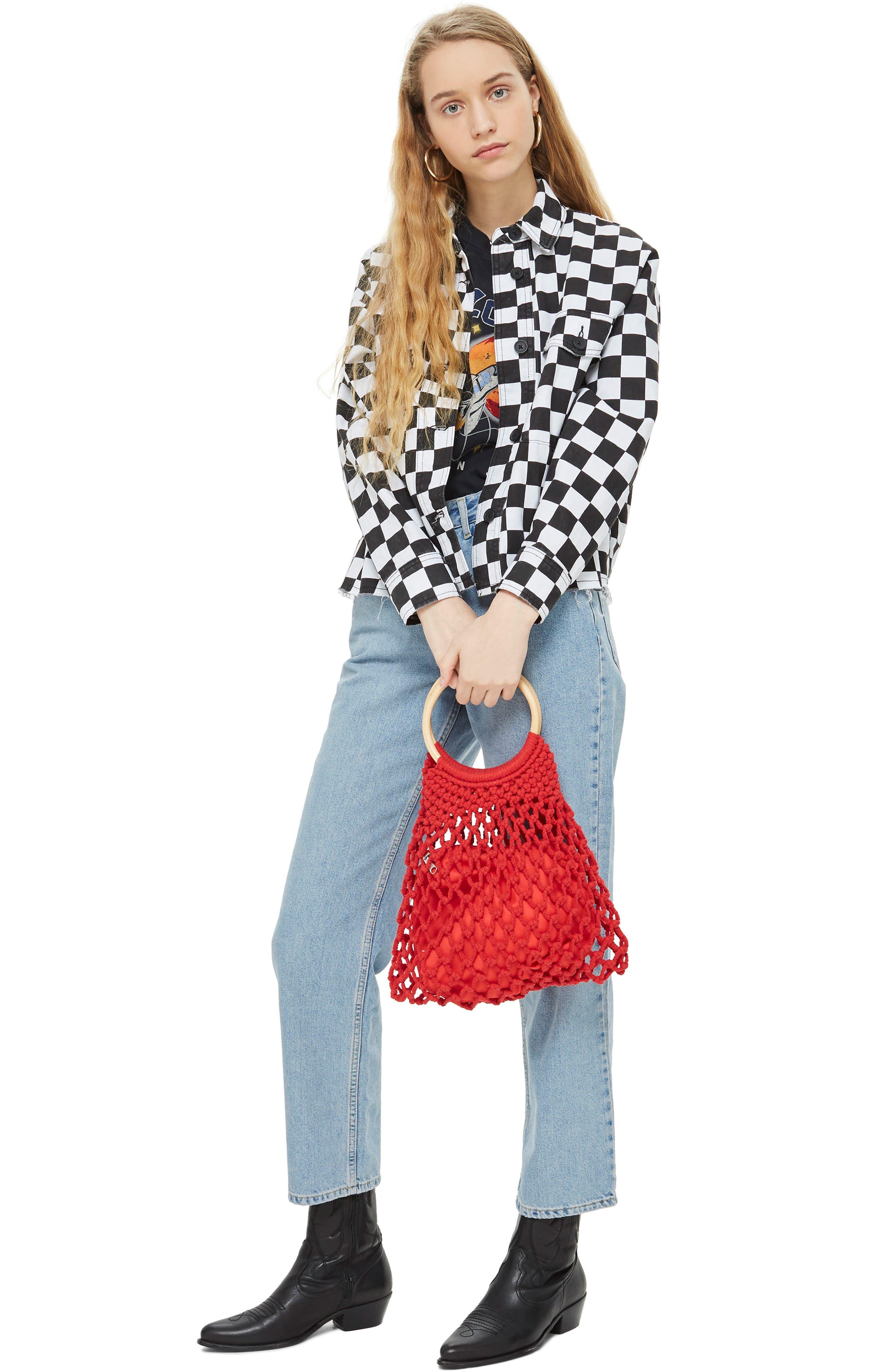 Benny String Shopper Bag,                             Alternate thumbnail 2, color,                             600