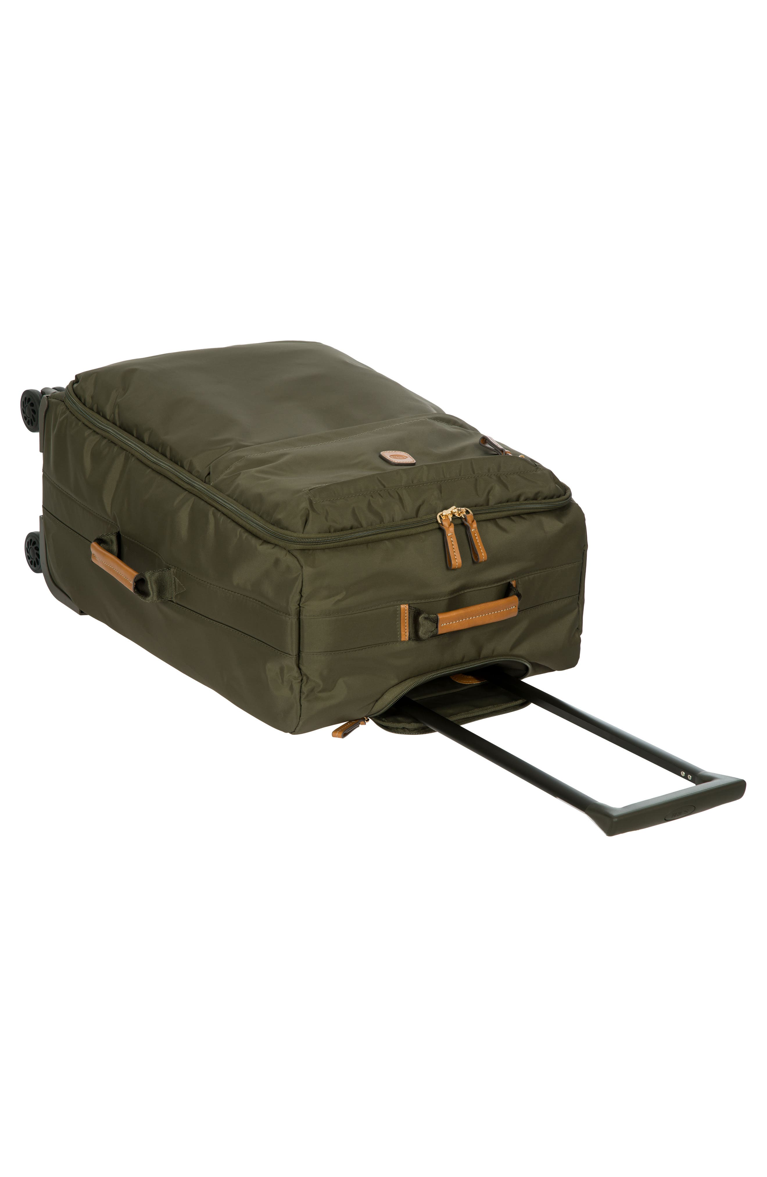X-Bag 25-Inch Spinner Suitcase,                             Alternate thumbnail 6, color,                             OLIVE