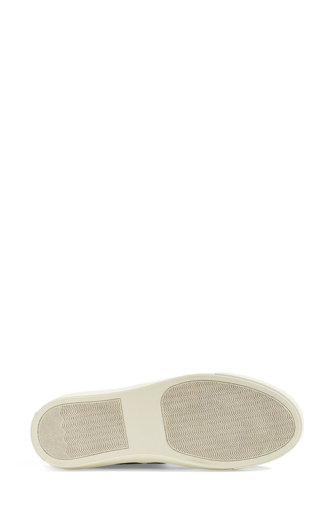 'Ecntrc-c' Snake-Embossed Slip-On Sneaker,                             Alternate thumbnail 5, color,