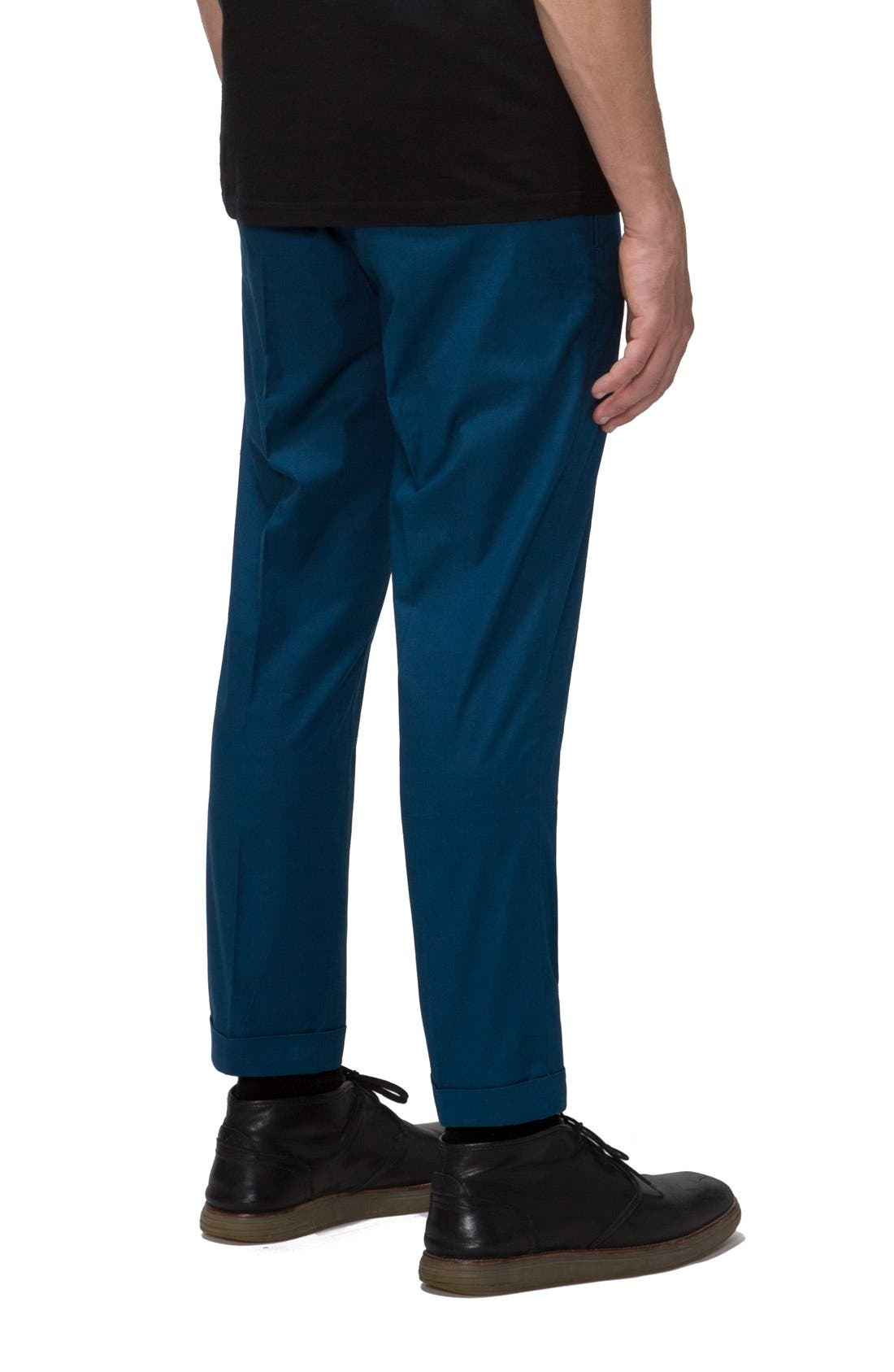 'Arroyo' Crop Stretch Chinos,                             Alternate thumbnail 10, color,