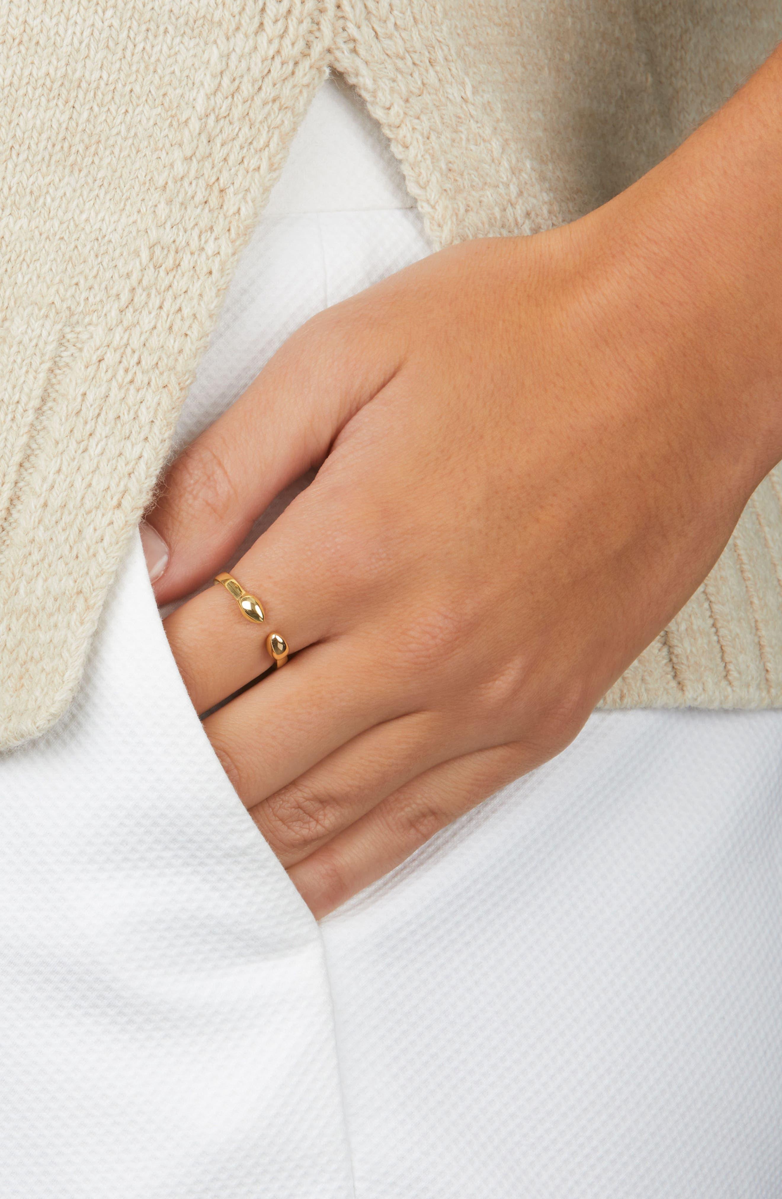 Fiji Bud Ring,                             Alternate thumbnail 2, color,                             GOLD