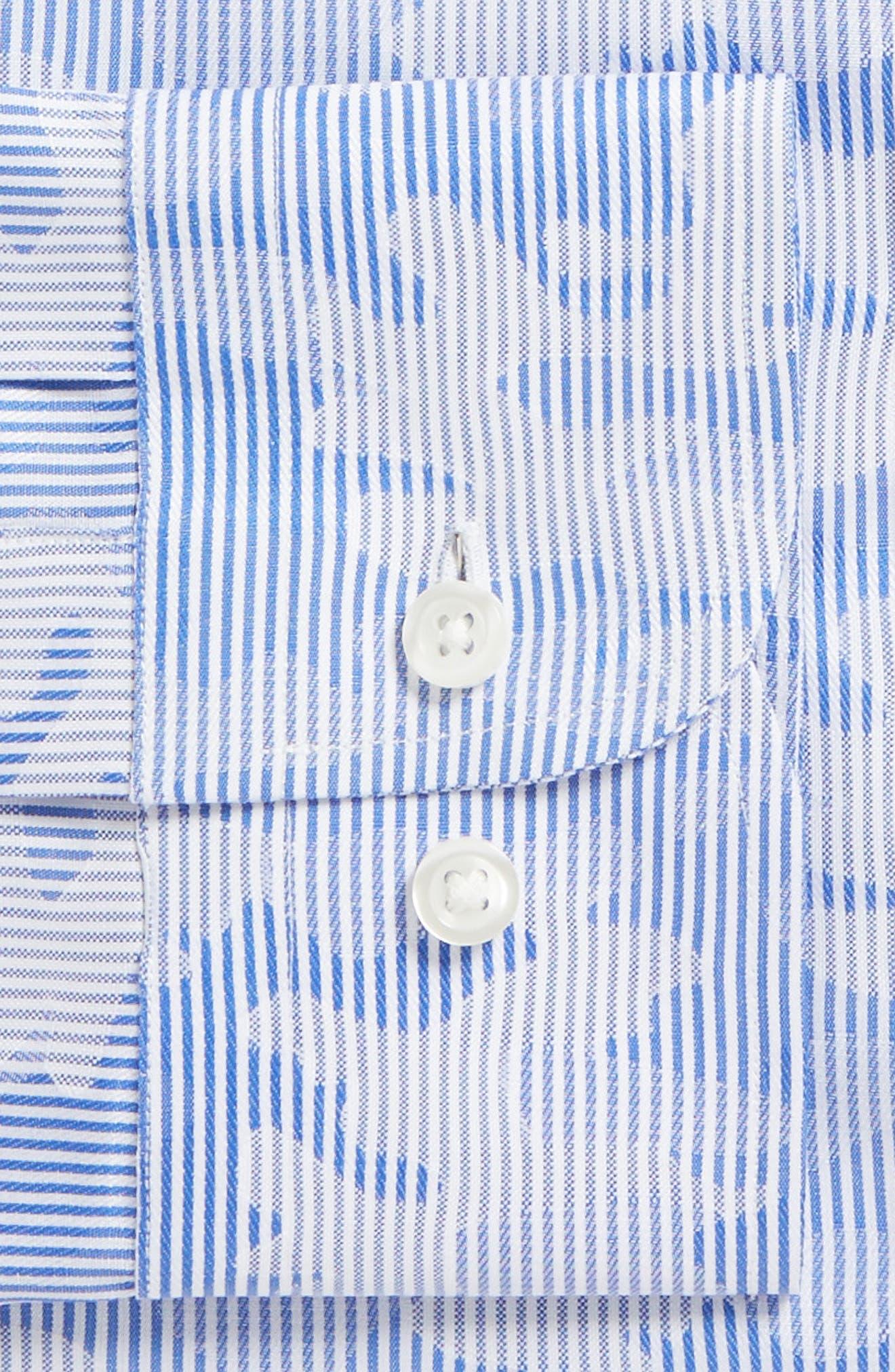 Trim Fit Camo Dress Shirt,                             Alternate thumbnail 2, color,                             050