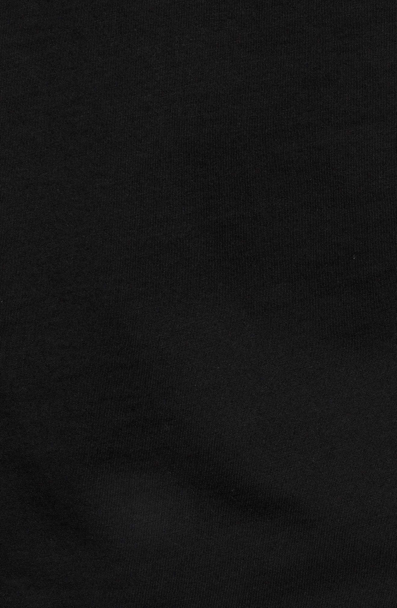 Wild Pack Logo Graphic T-Shirt,                             Alternate thumbnail 5, color,                             PUMA BLACK