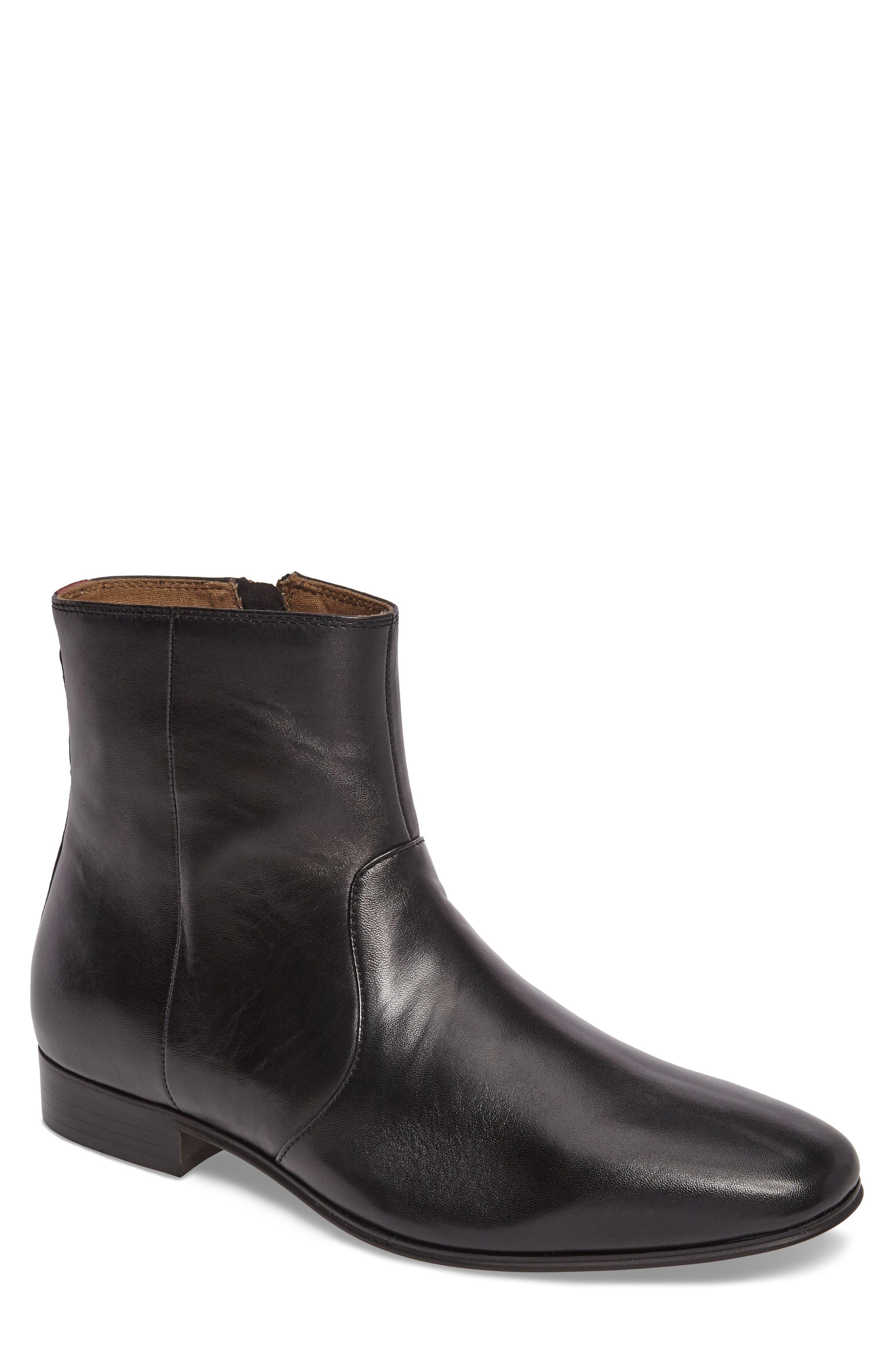 Arly Zip Boot,                         Main,                         color, 002