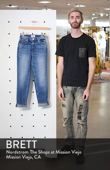 Sarah High Waist Straight Slim Leg Jeans, sales video thumbnail