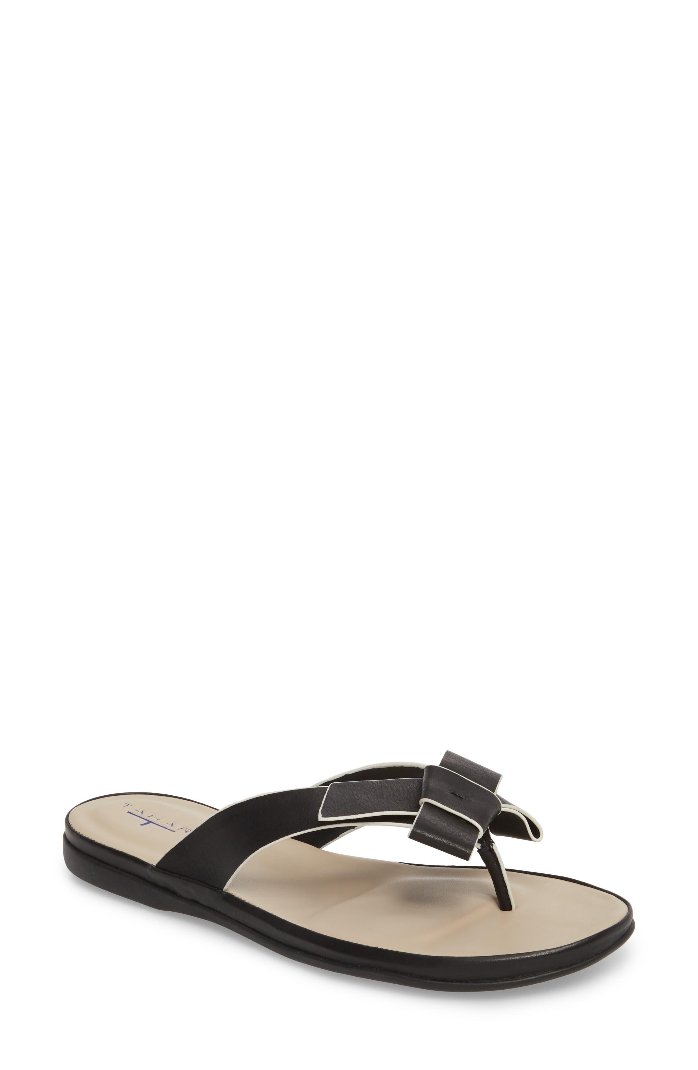 T TAHARI Aria Flip Flop, Main, color, 001