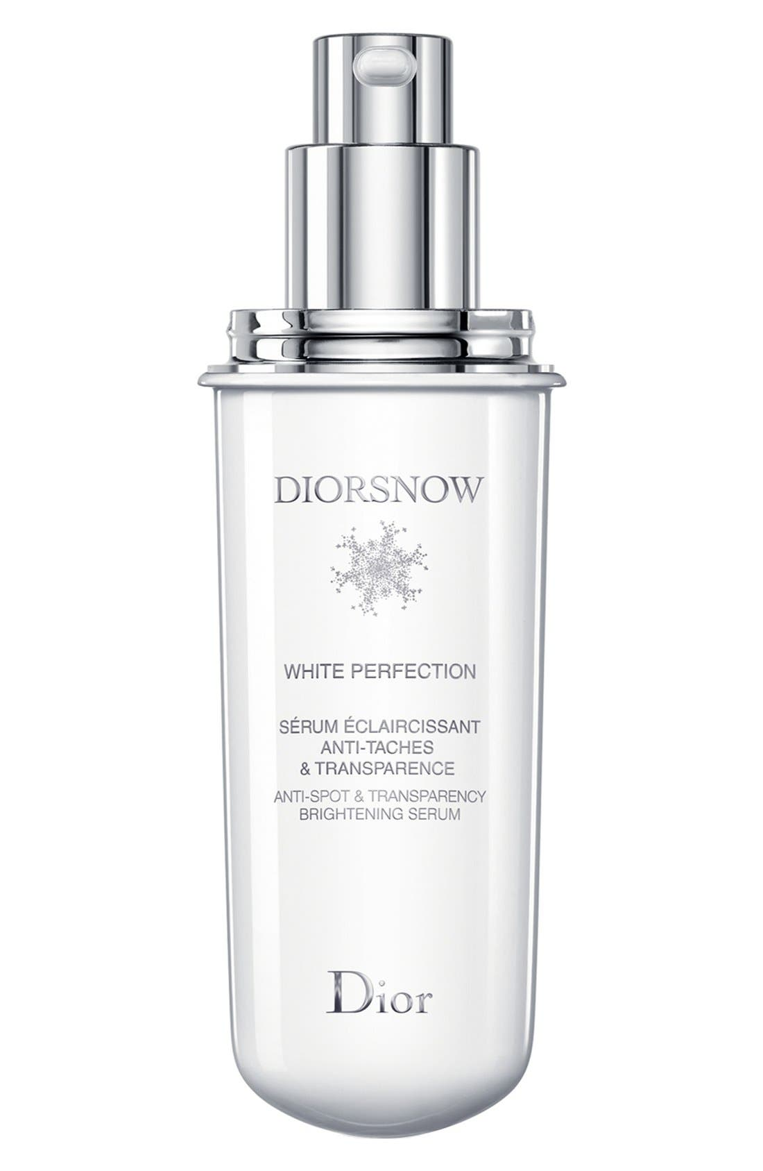 'Diorsnow' White Perfection Anti-Spot & Transparency Brightening Serum Refill,                         Main,                         color, 000