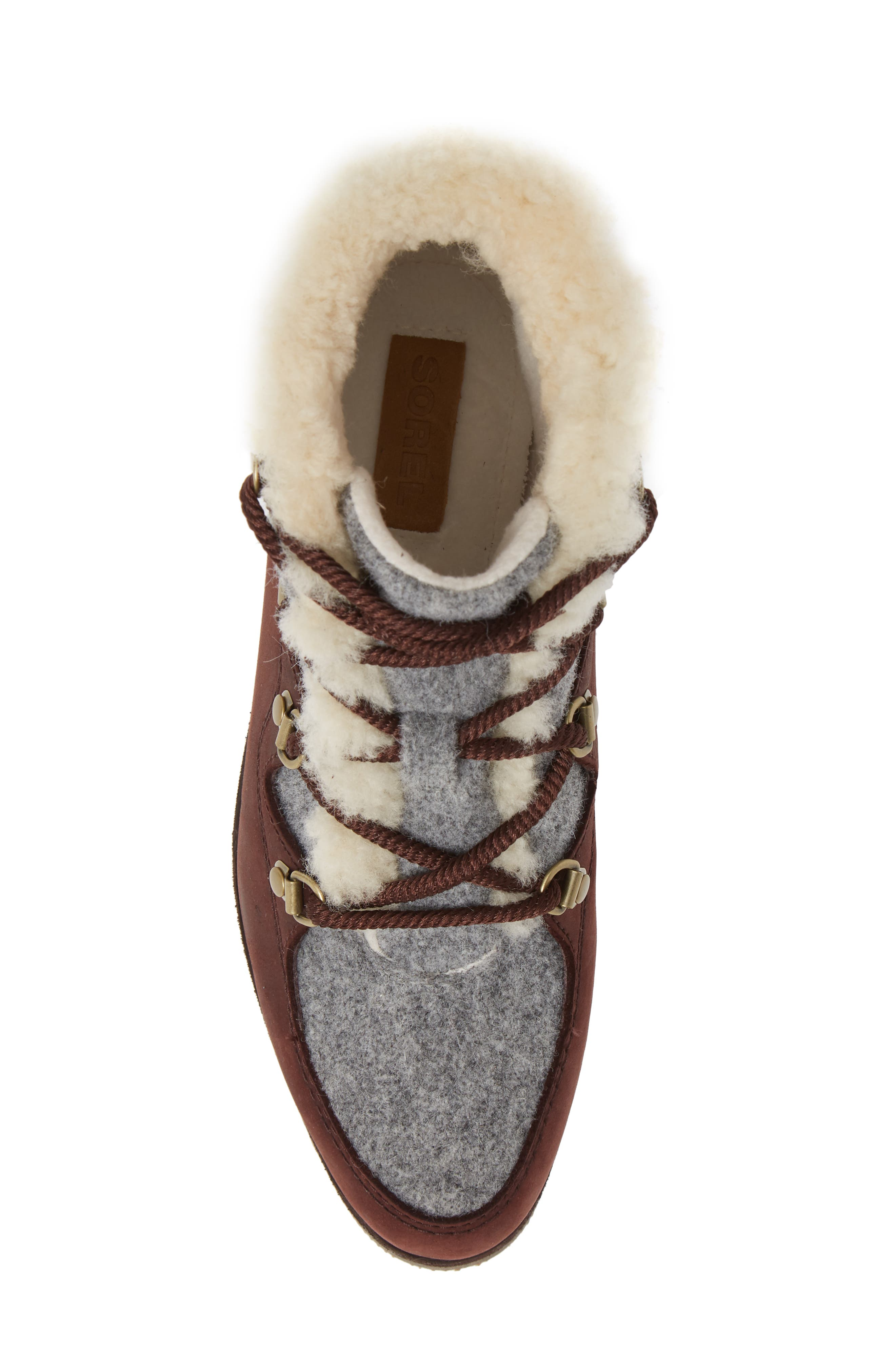 Sneakchic Alpine Holiday Waterproof Bootie,                             Alternate thumbnail 5, color,                             CATTAIL/ GUM