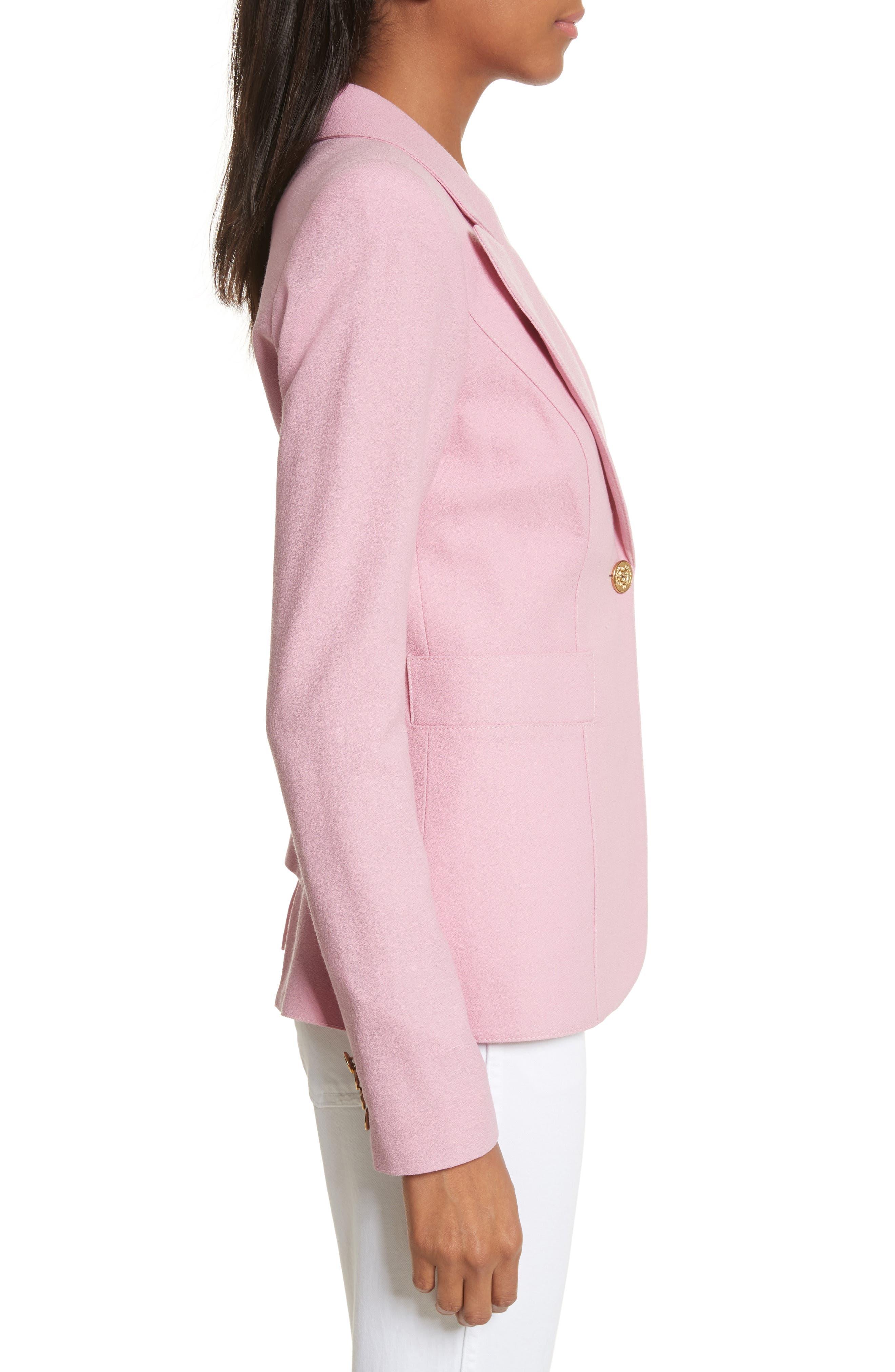 'Duchess' Single Button Blazer,                             Alternate thumbnail 14, color,