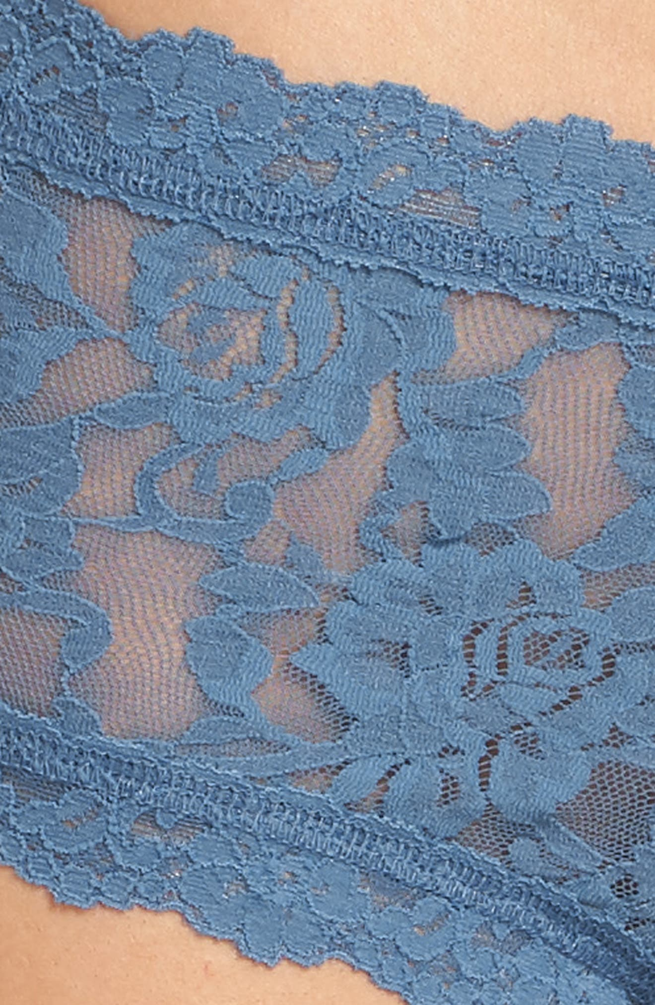 'Signature Lace' Boyshorts,                             Alternate thumbnail 366, color,