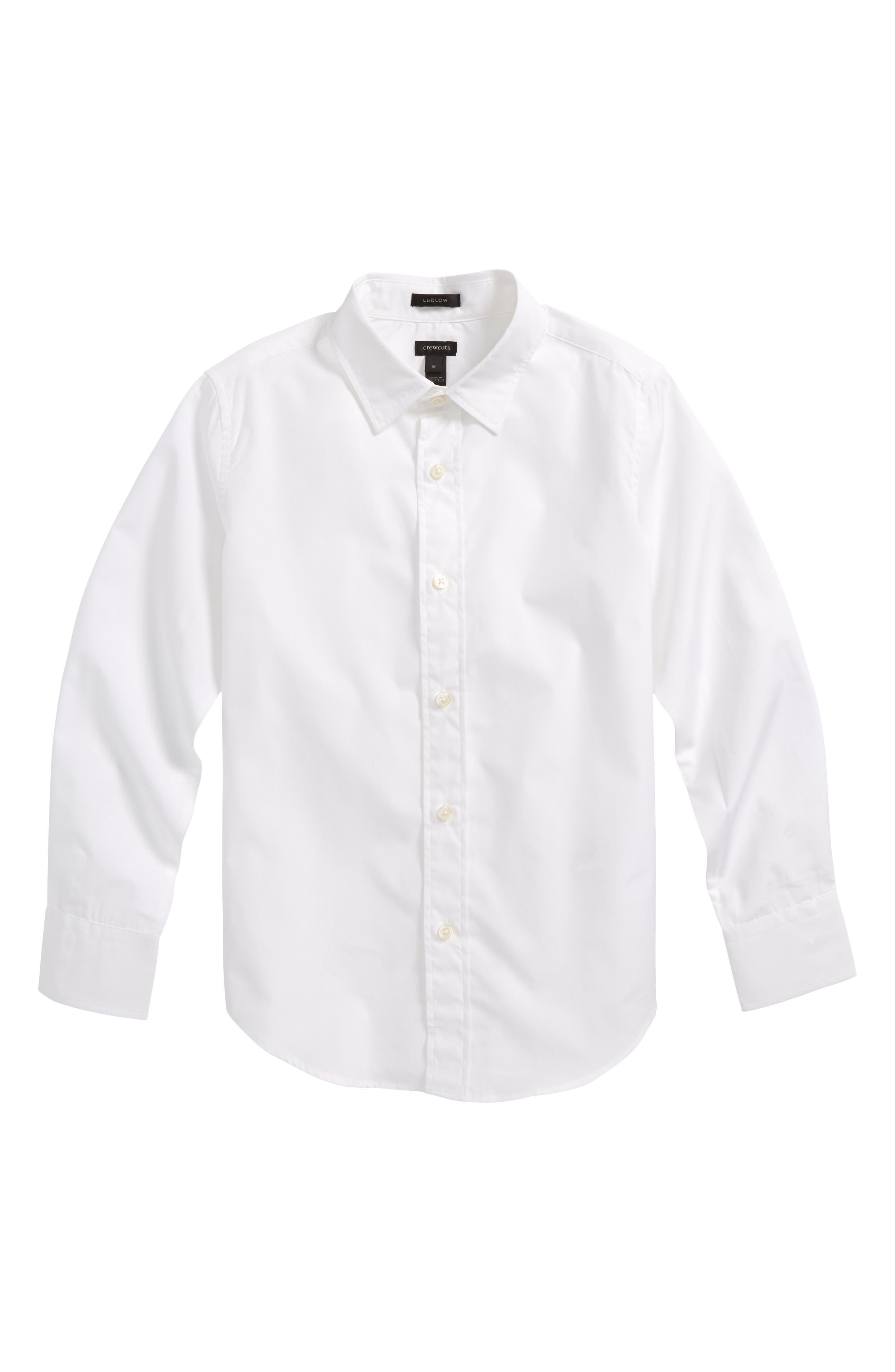 Ludlow Dress Shirt,                         Main,                         color, 100