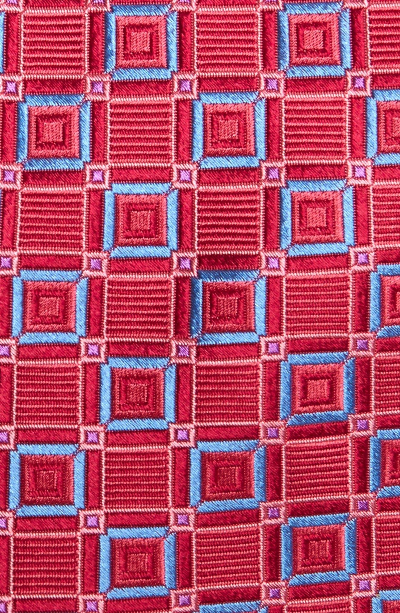 Medallion Silk Tie,                             Alternate thumbnail 6, color,