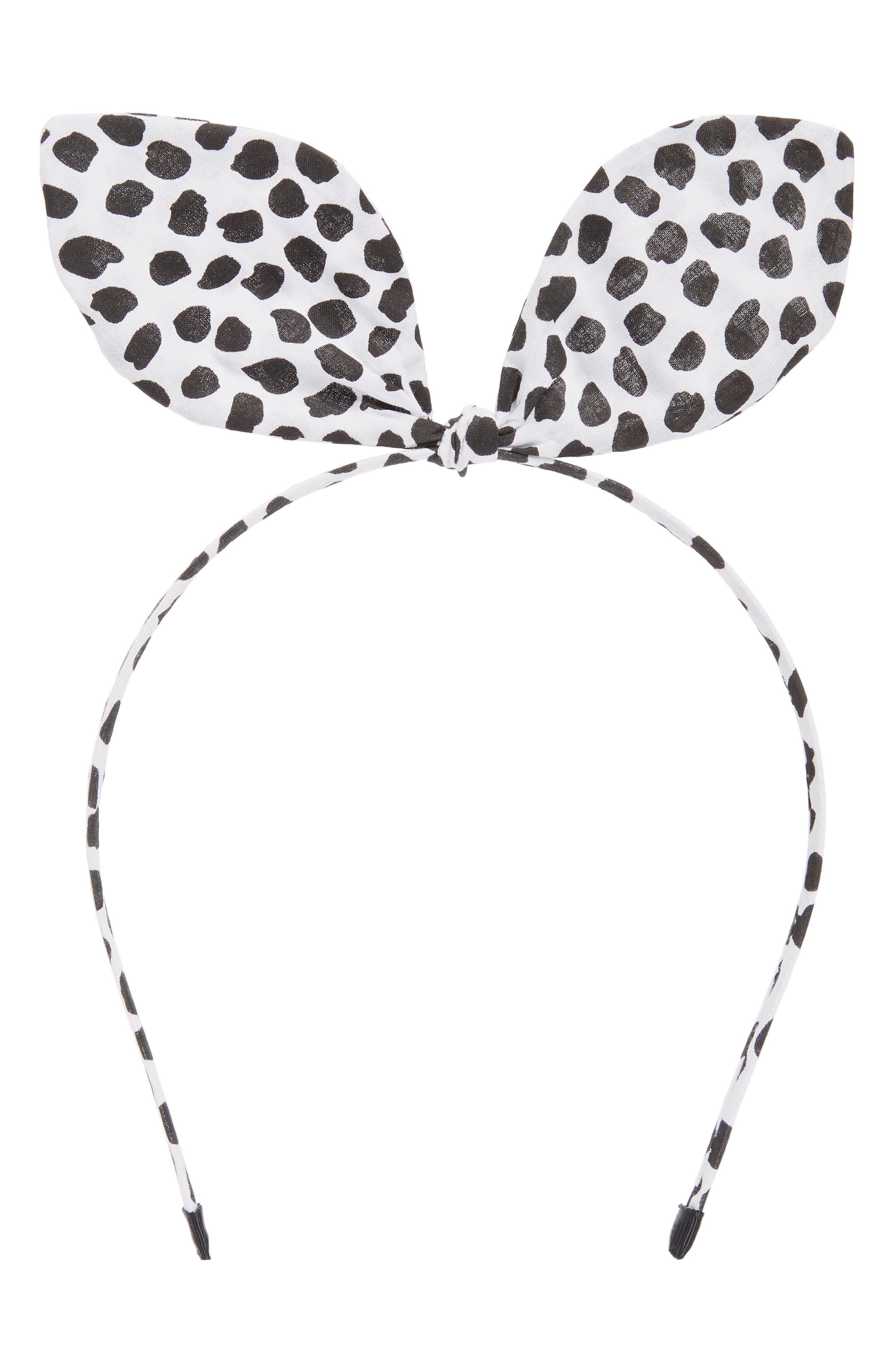 Bow Headband,                             Main thumbnail 1, color,                             100