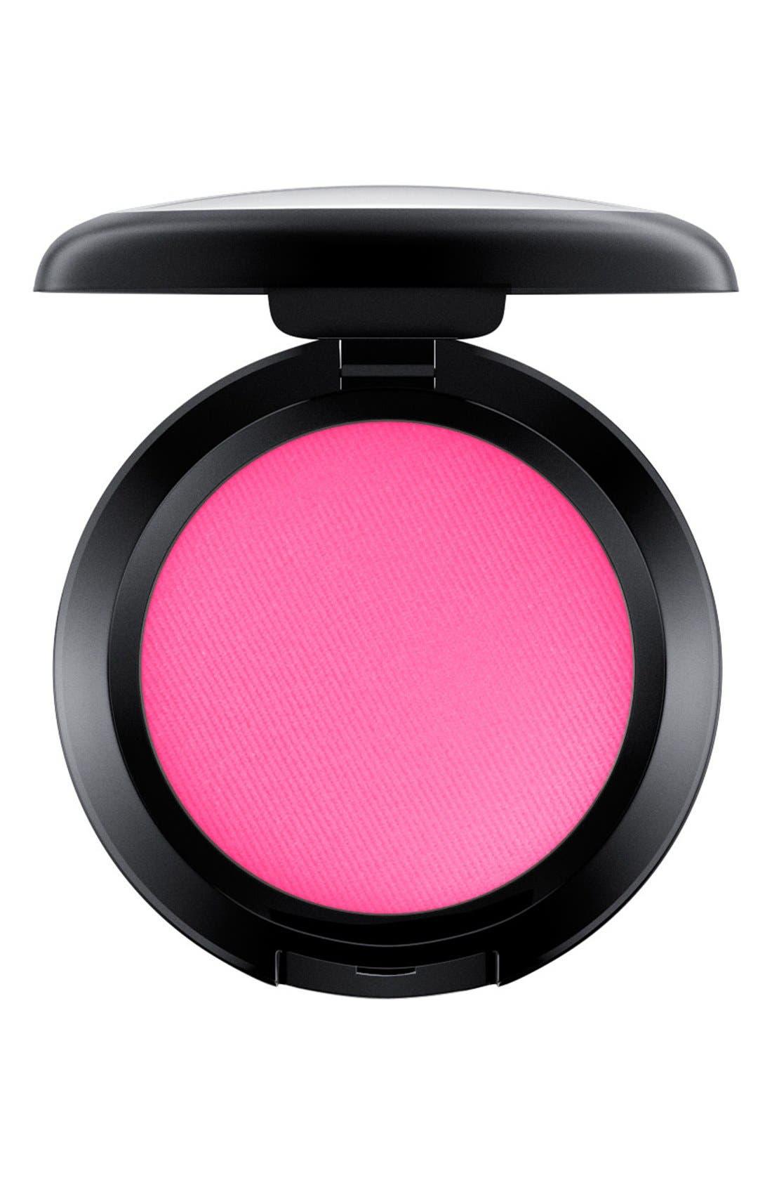 MAC Small Powder Blush,                             Main thumbnail 1, color,                             BRIGHT PINK