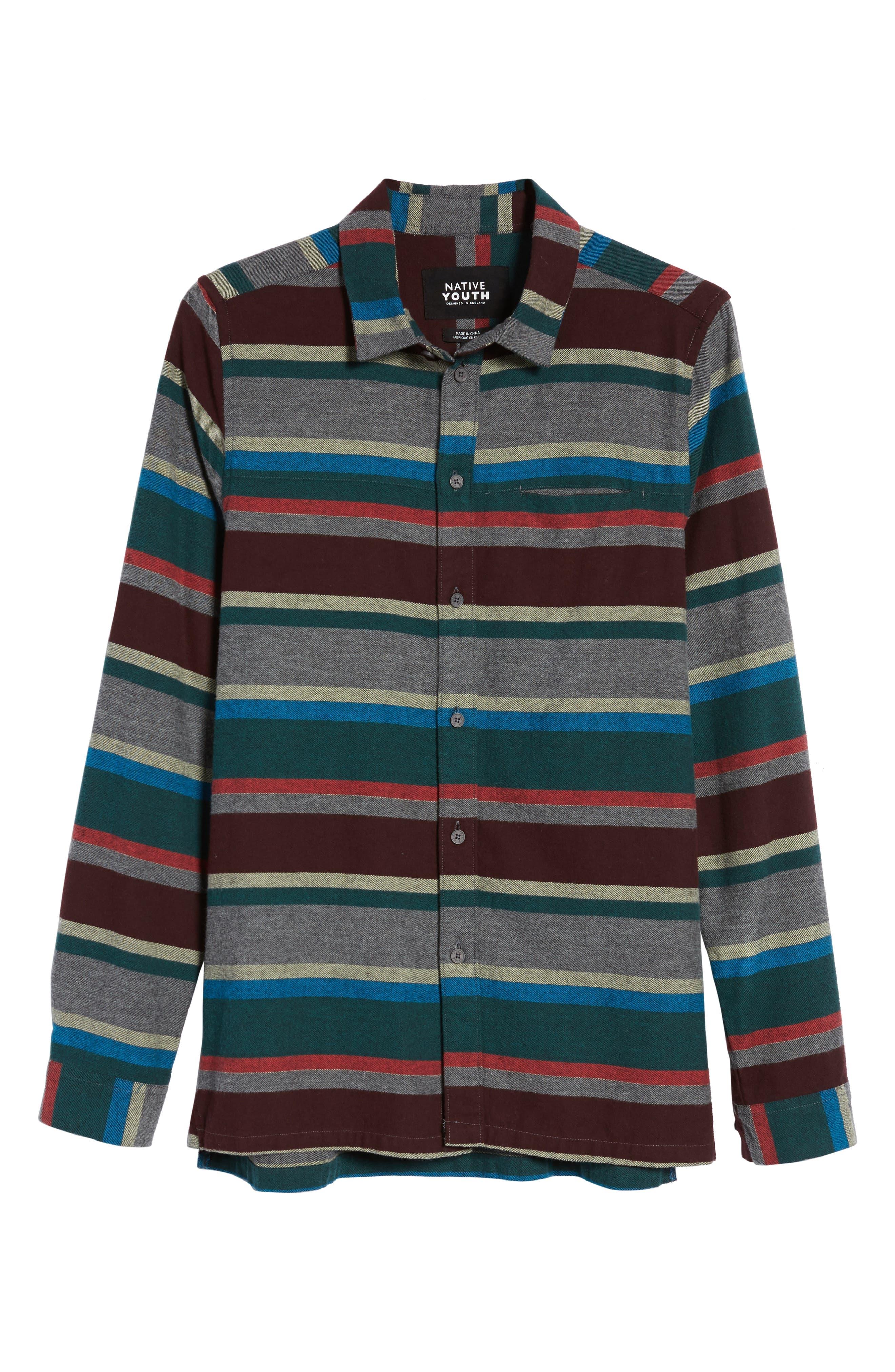 Arcot Woven Shirt,                             Alternate thumbnail 6, color,                             020