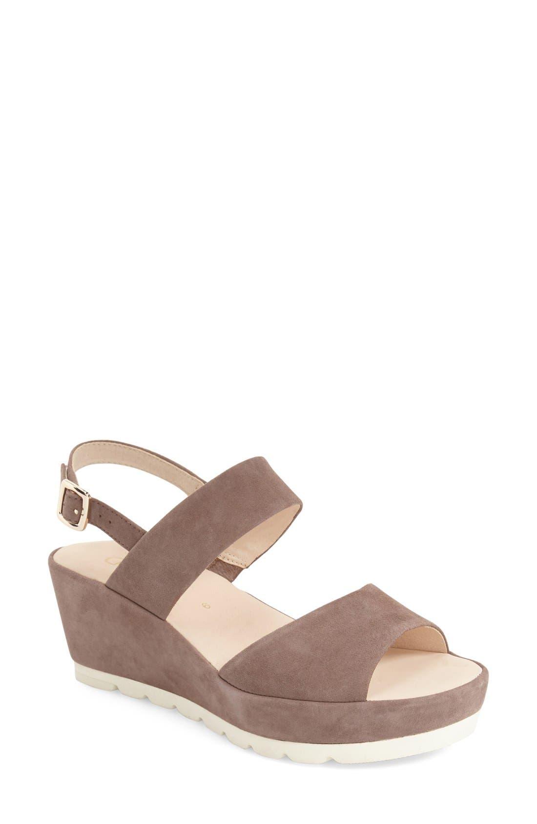 Two-Strap Sandal,                             Main thumbnail 2, color,