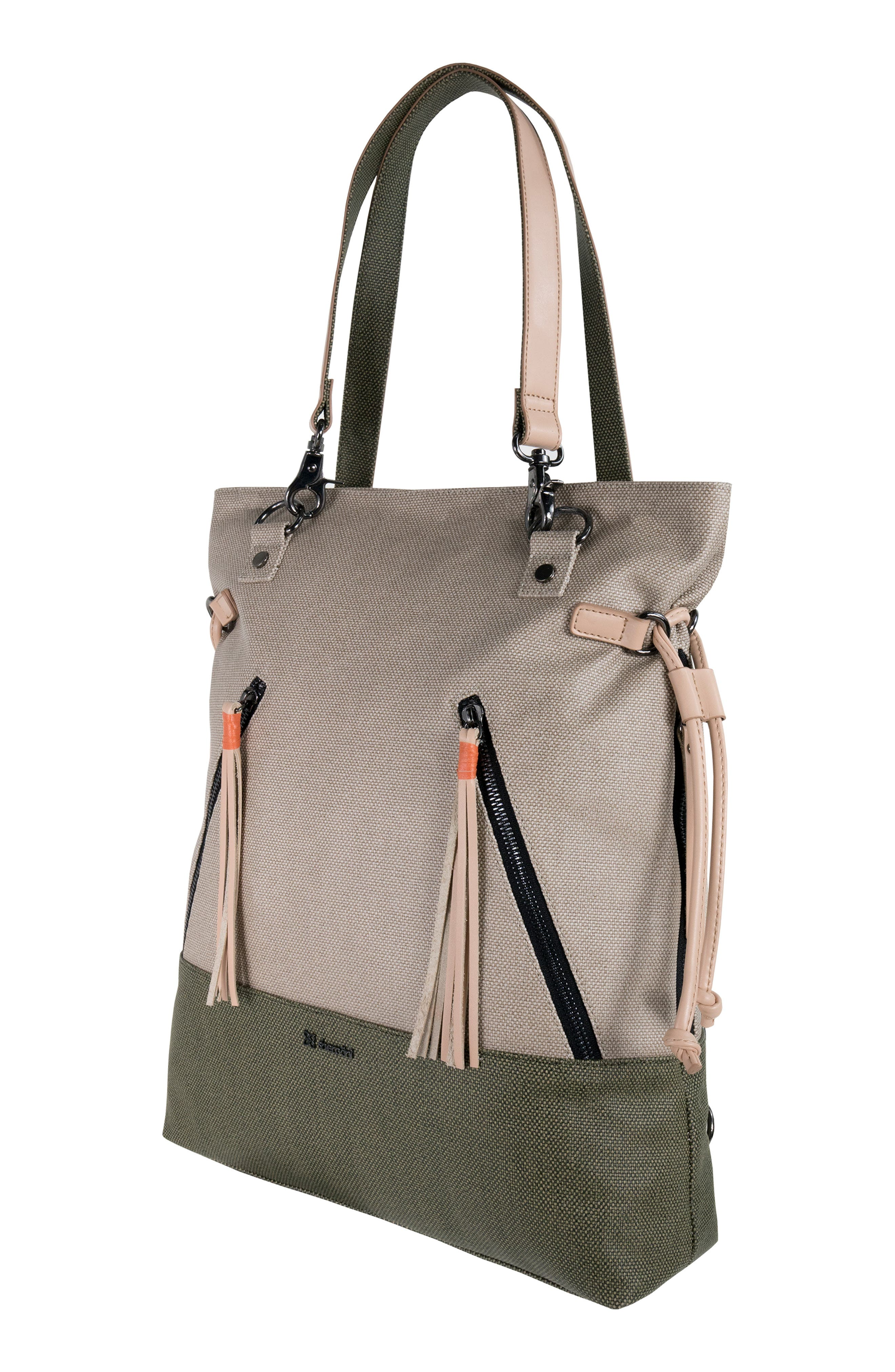 Tempest Canvas Convertible Backpack,                             Alternate thumbnail 5, color,                             901