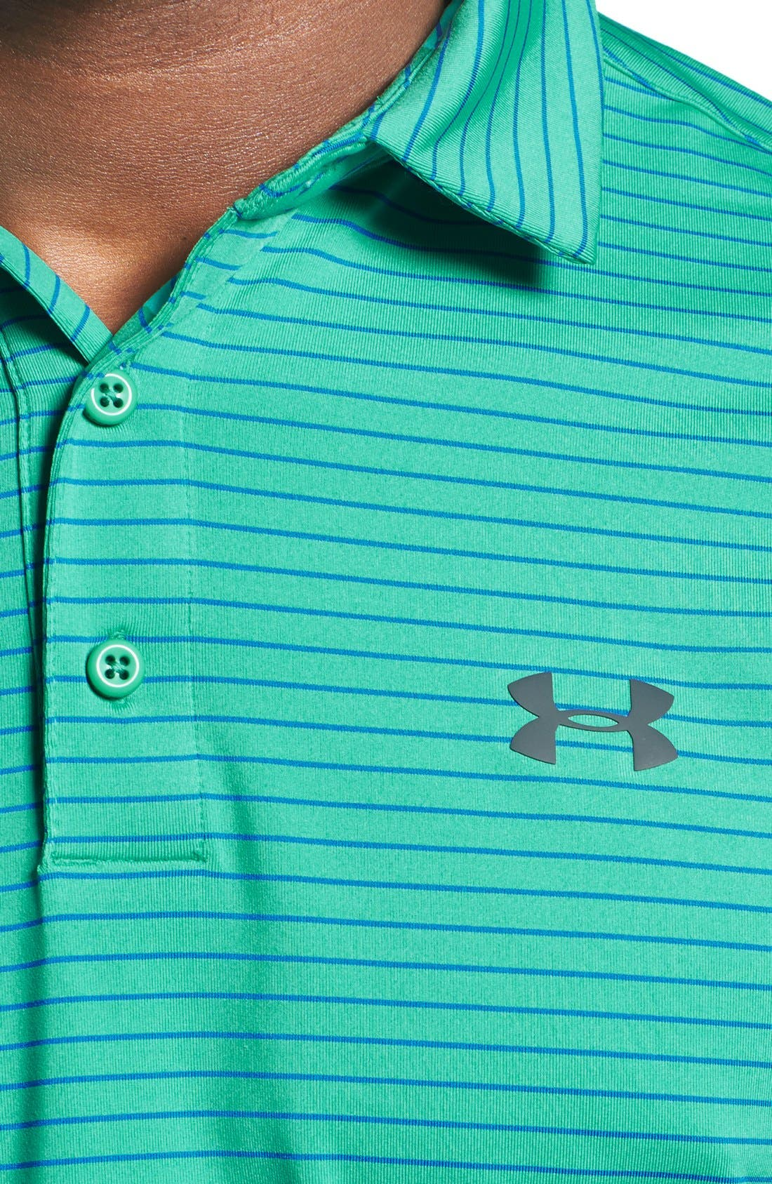 'Playoff' Loose Fit Short Sleeve Polo,                             Alternate thumbnail 254, color,