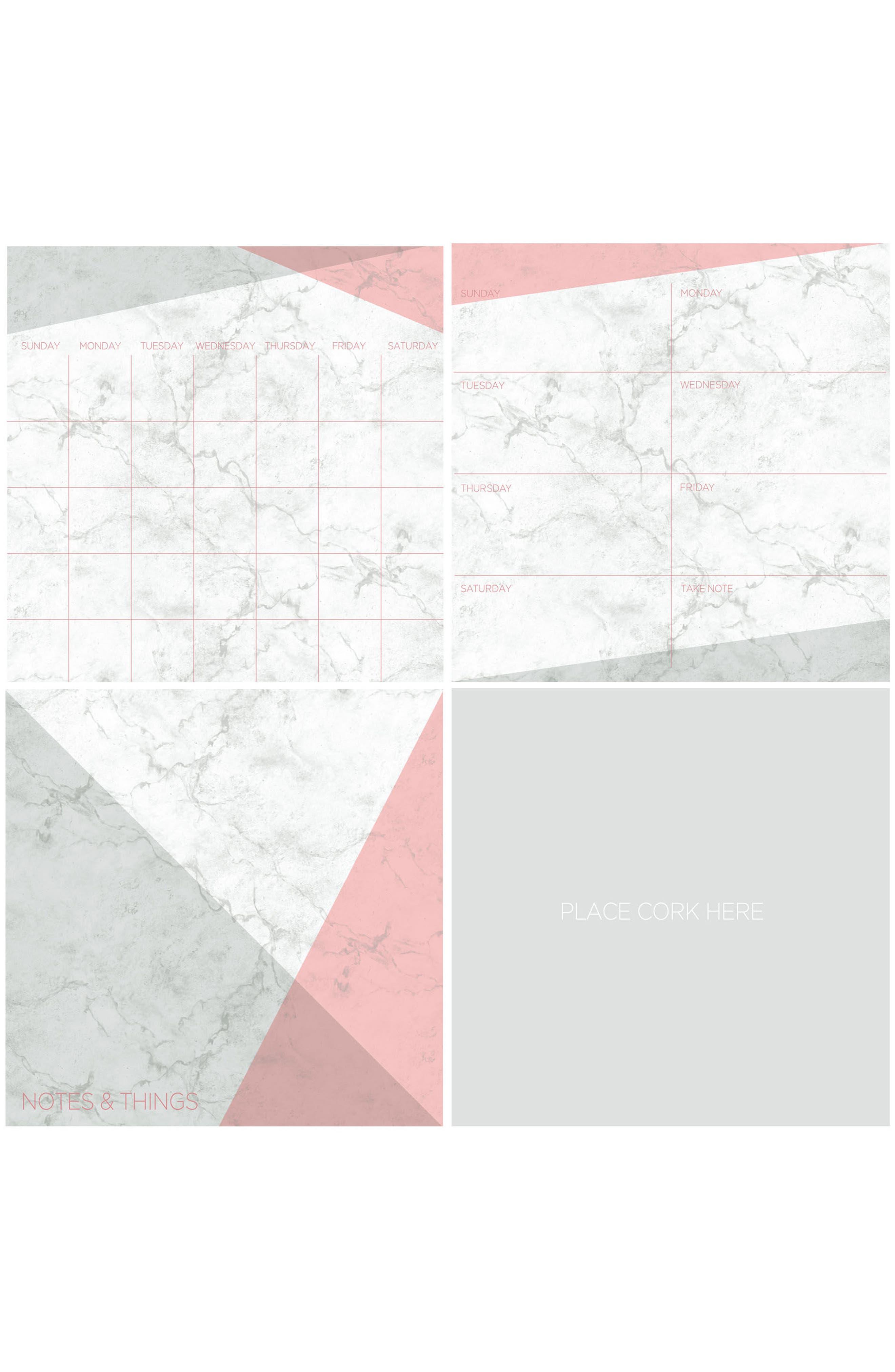 Everest Wall Decal Organization Kit,                             Main thumbnail 1, color,                             100