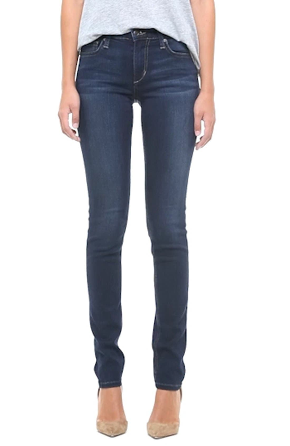 'Flawless' Cigarette Leg Jeans,                             Alternate thumbnail 2, color,                             400