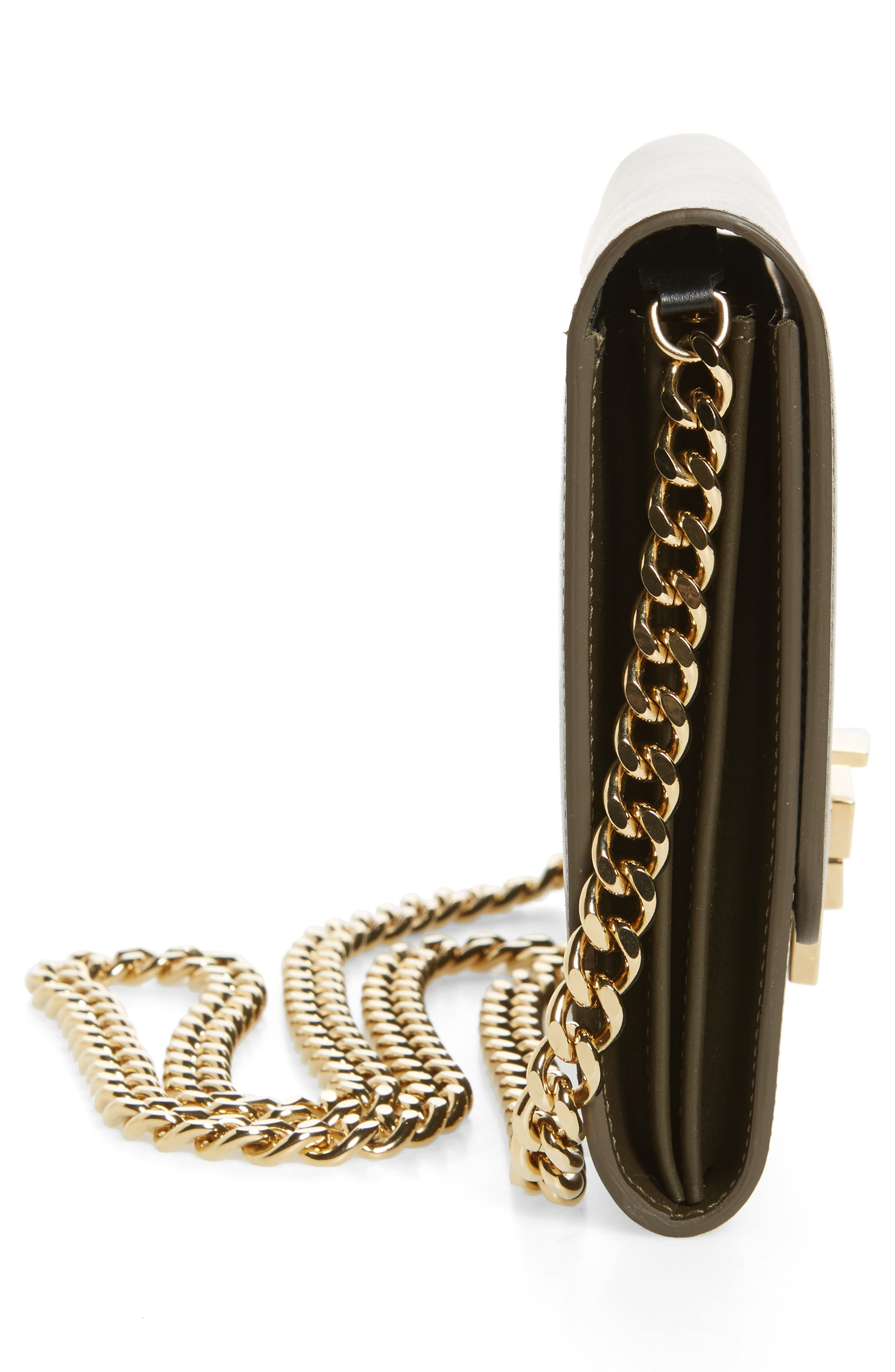 Leather Wallet on a Chain,                             Alternate thumbnail 10, color,