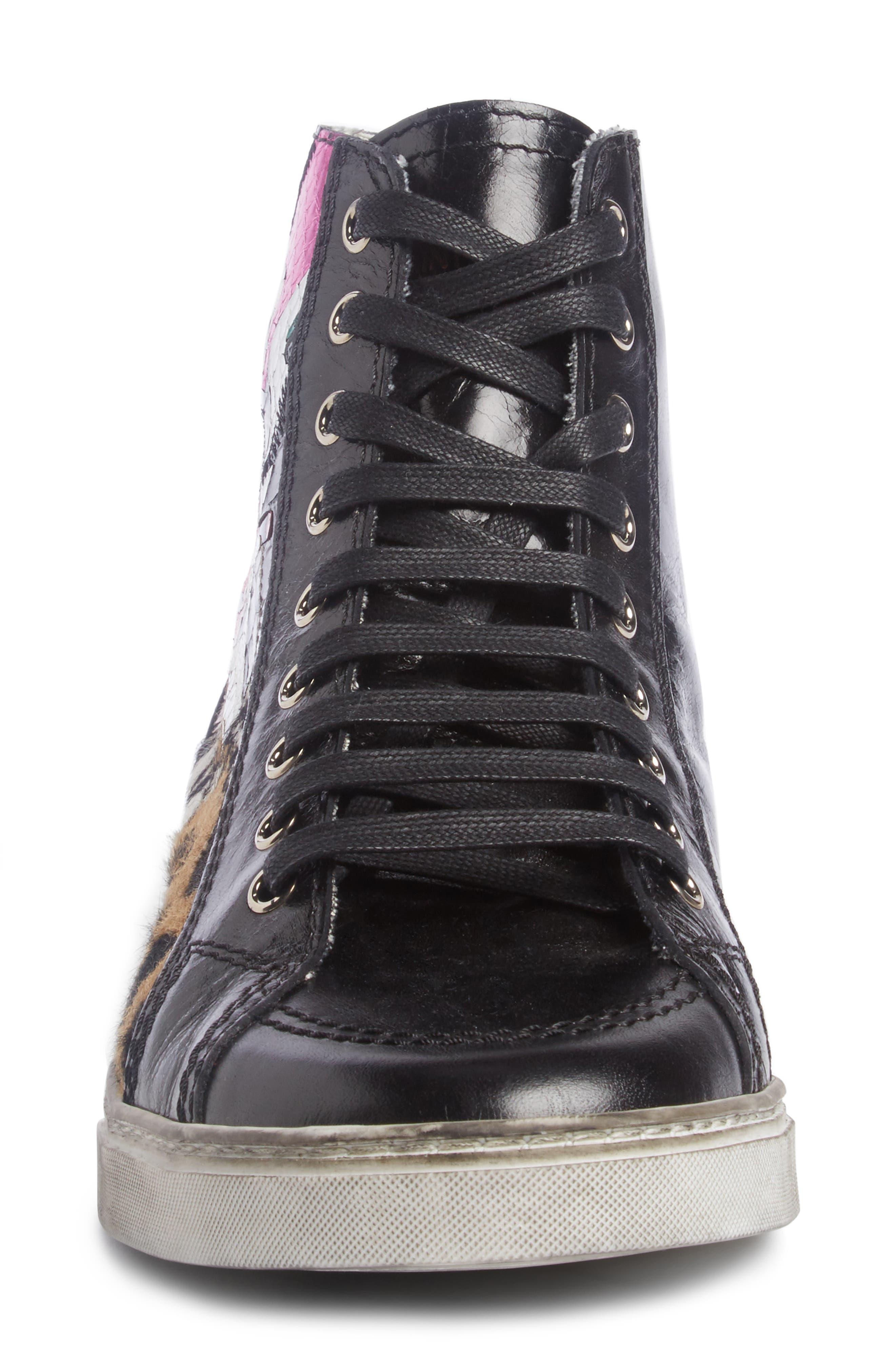 Modern Art Sneaker,                             Alternate thumbnail 4, color,                             009