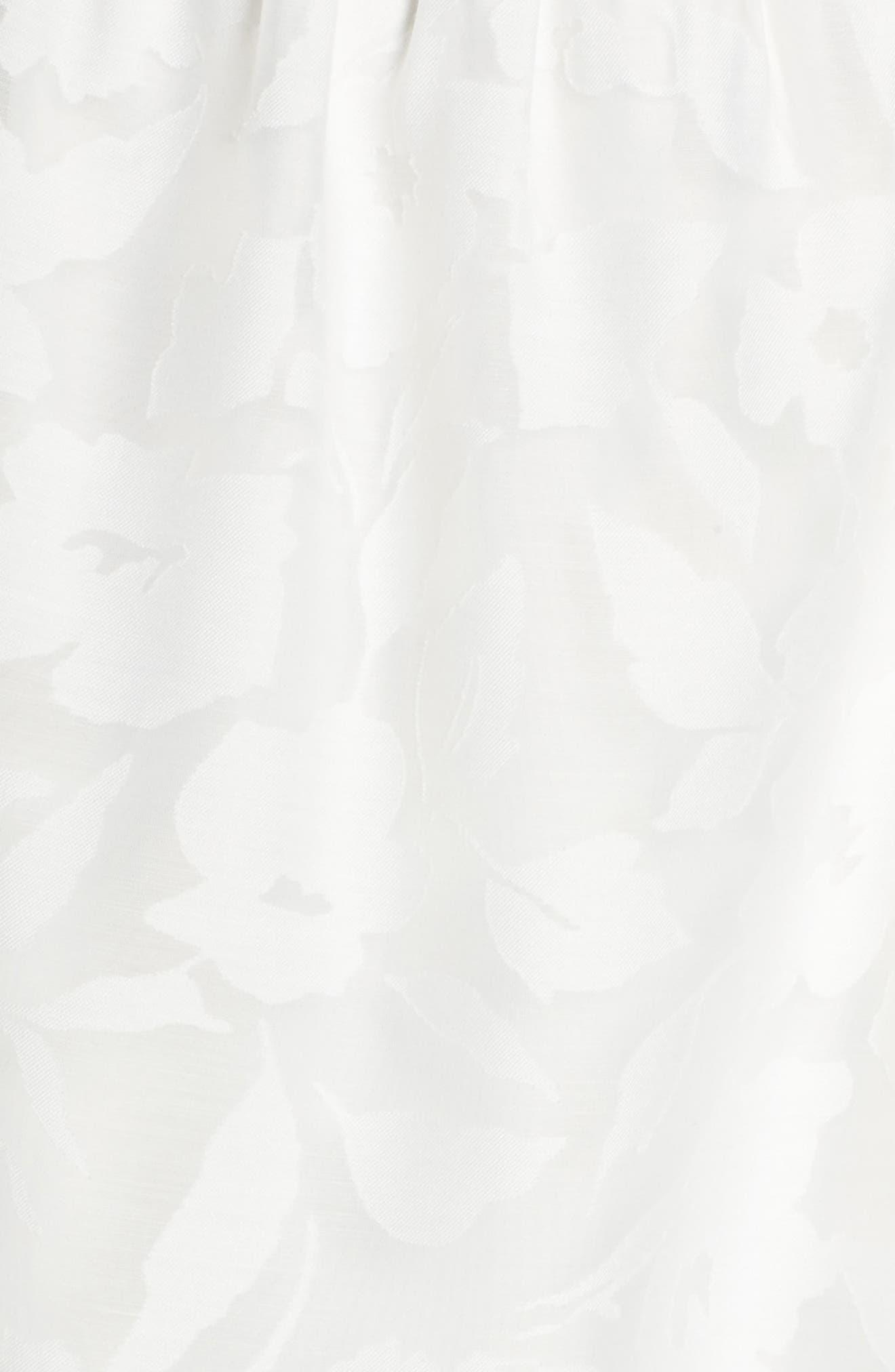 Merry-Go-Round Cutout Minidress,                             Alternate thumbnail 5, color,                             100