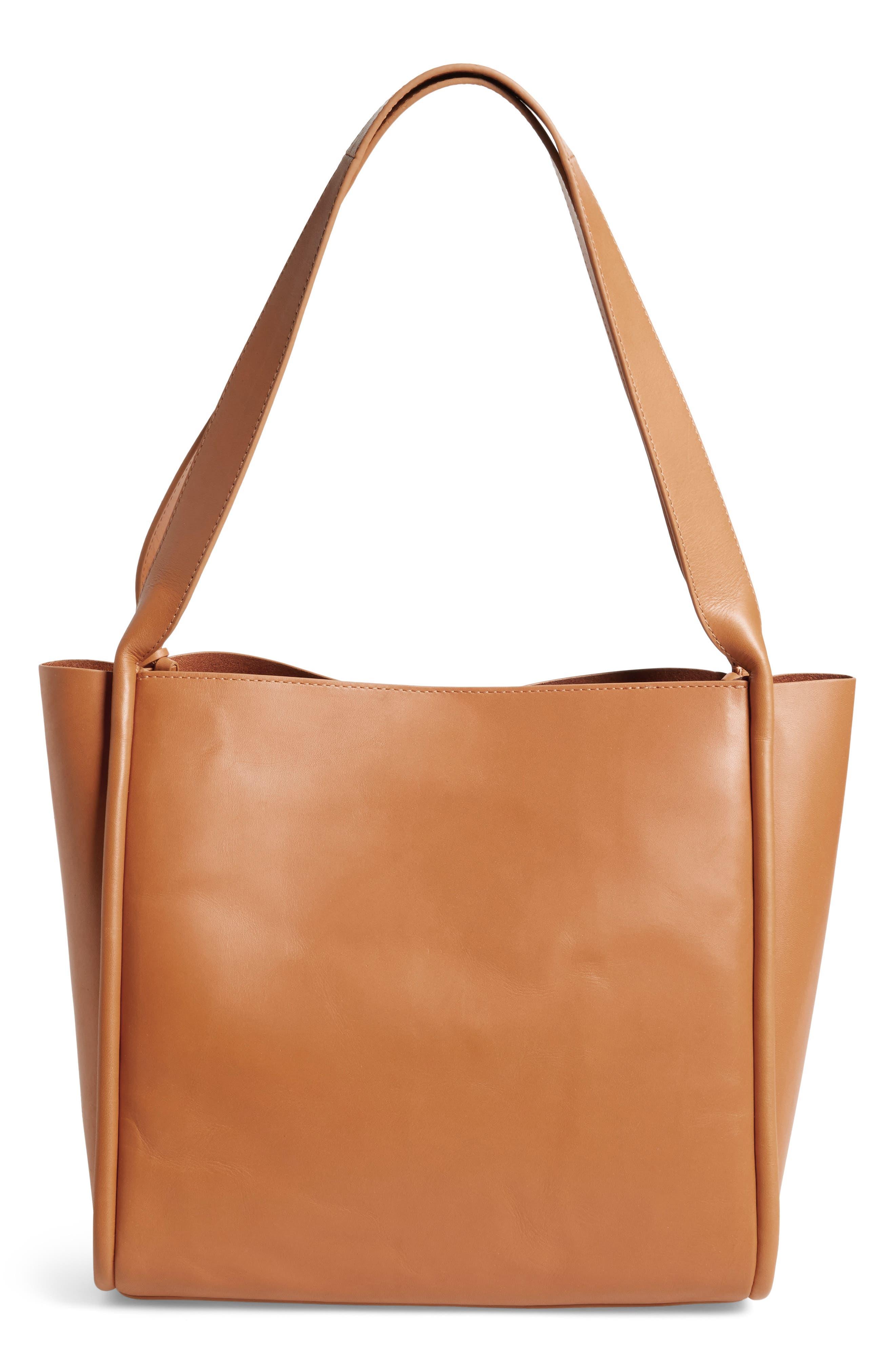 Karalie Leather Shoulder Bag,                             Alternate thumbnail 9, color,