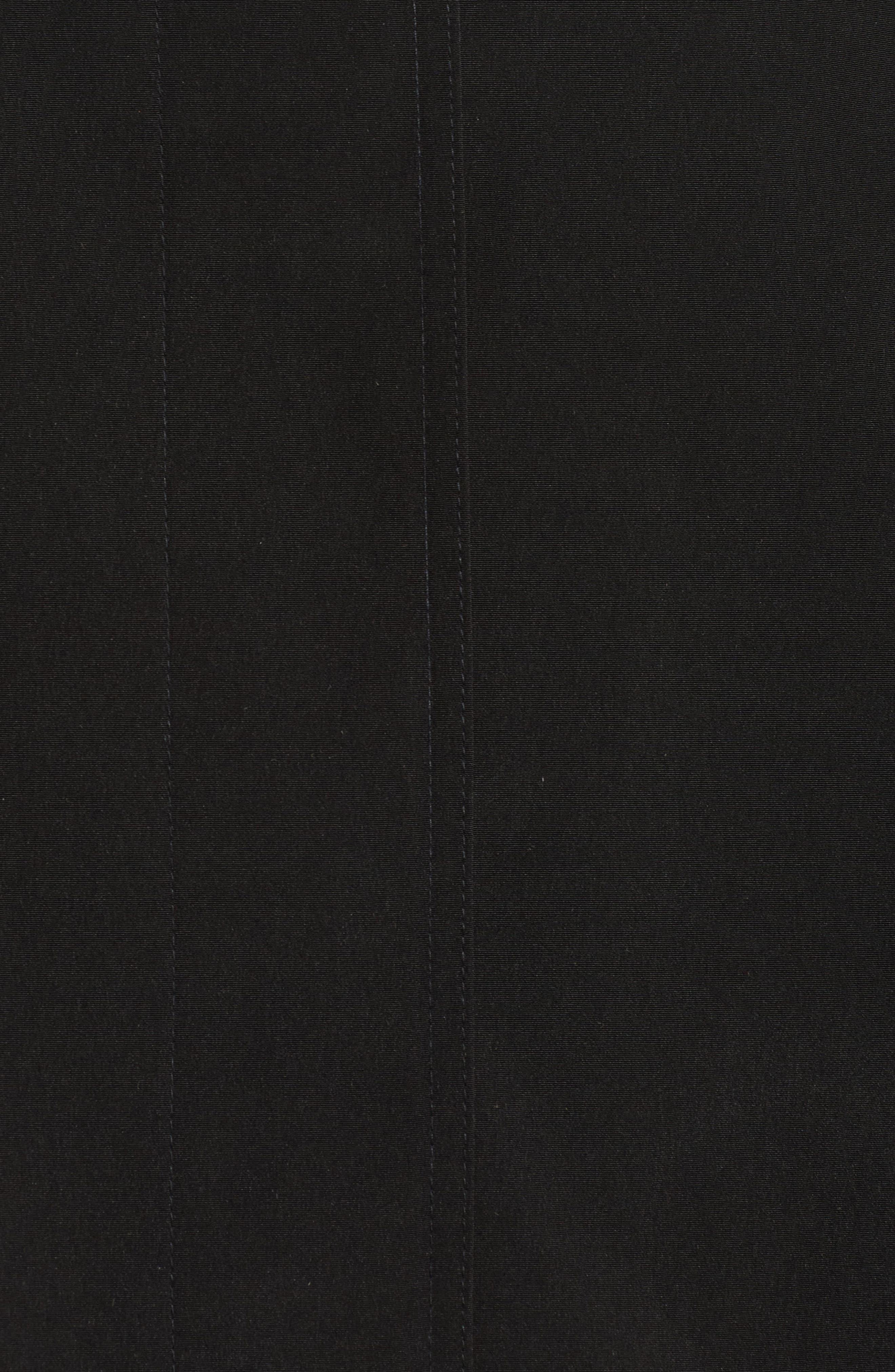 Long Silk Look Raincoat,                             Alternate thumbnail 6, color,