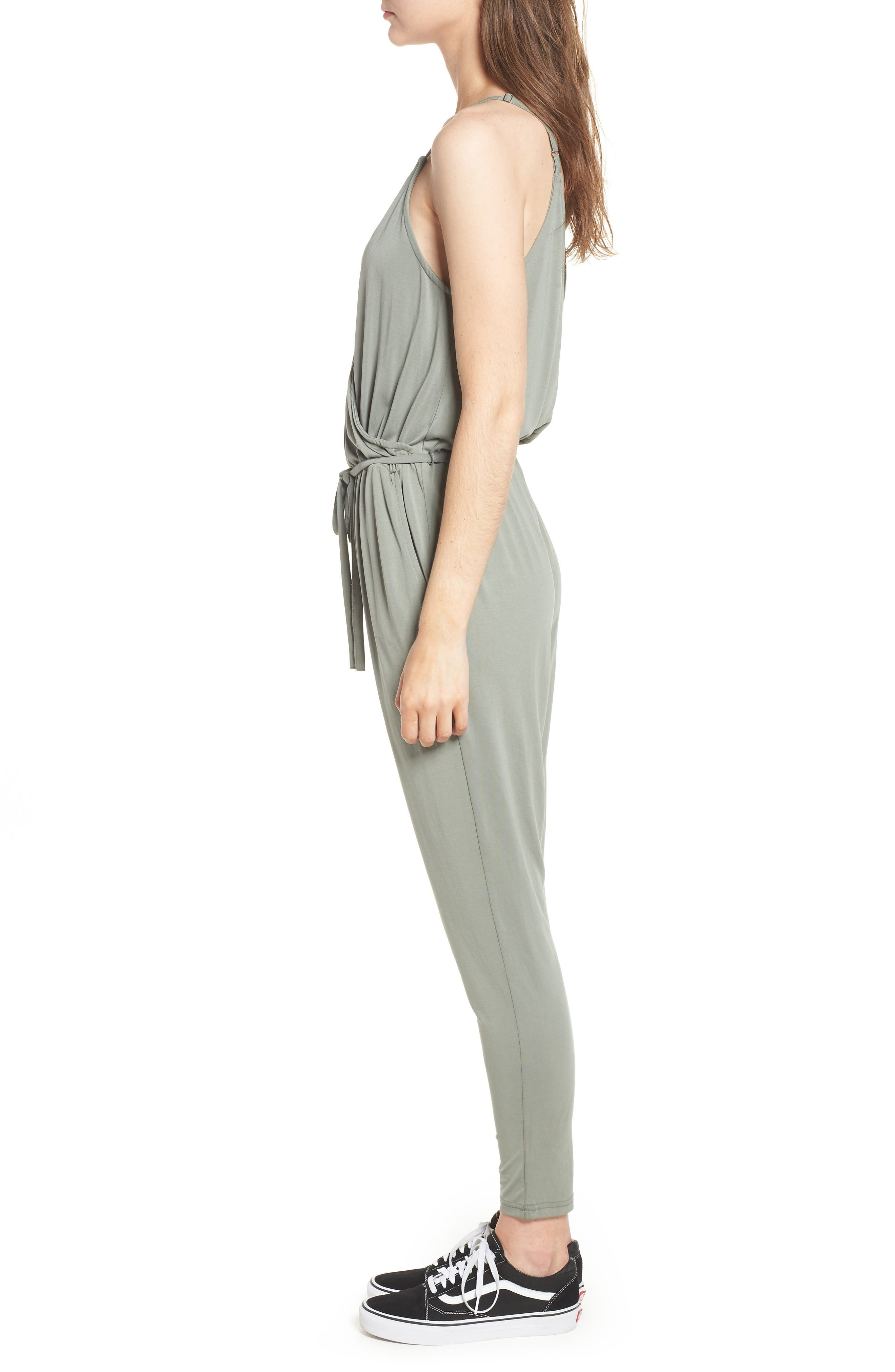Marni Jumpsuit,                             Alternate thumbnail 3, color,                             SAGE