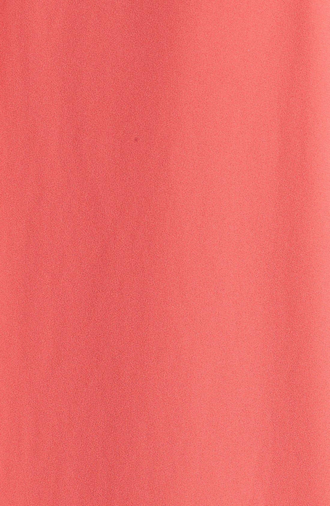 Cuff Sleeve Woven Tee,                             Alternate thumbnail 178, color,