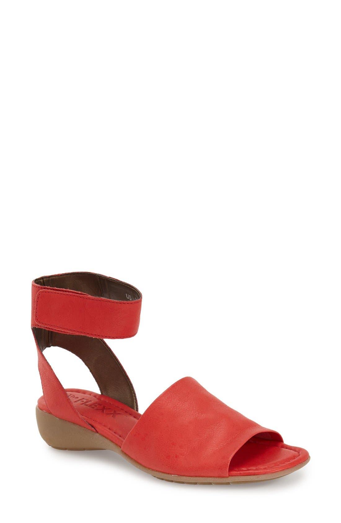 'Beglad' Leather Ankle Strap Sandal,                             Main thumbnail 16, color,