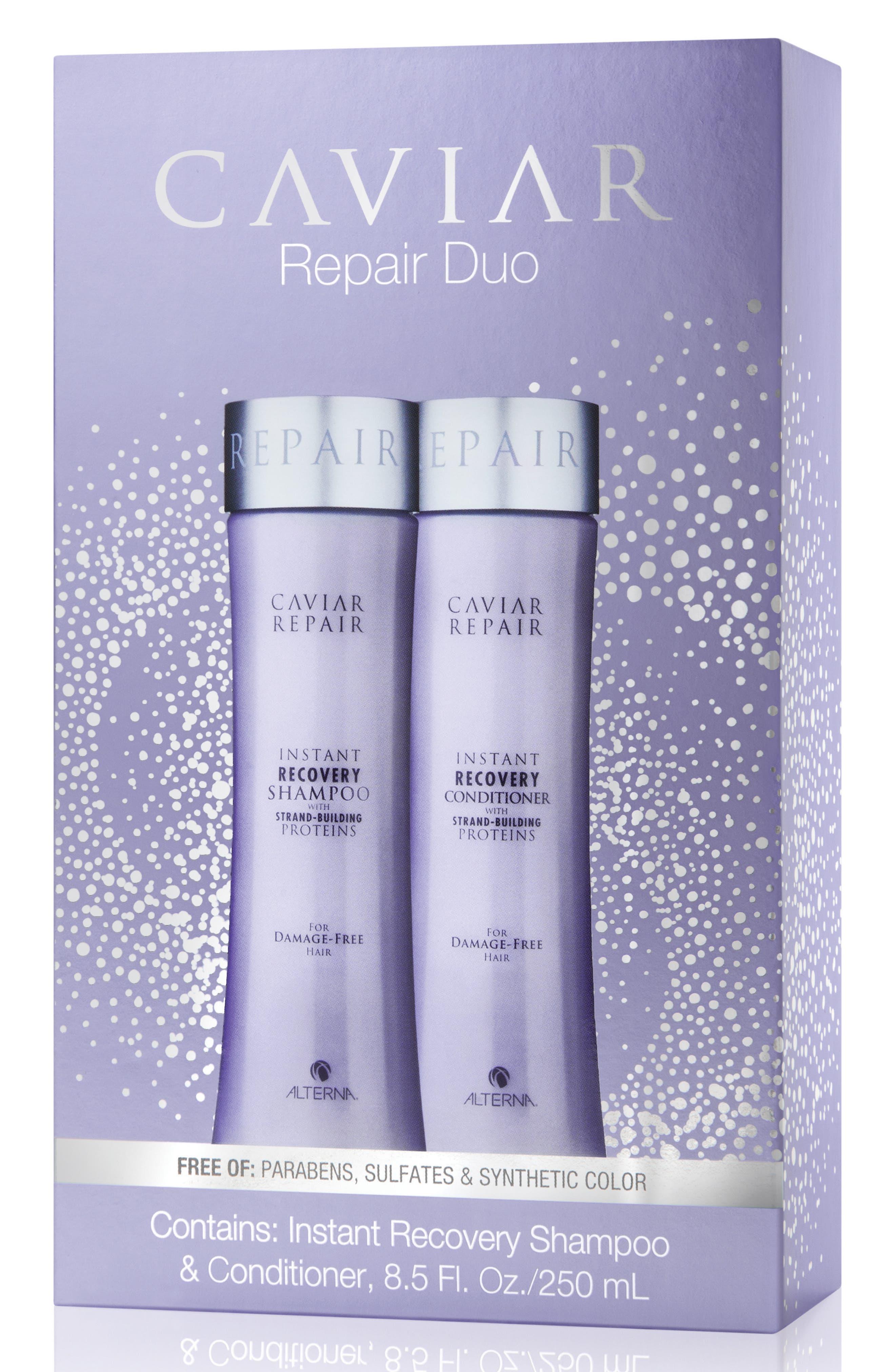 Caviar Repair Duo,                             Main thumbnail 1, color,                             000