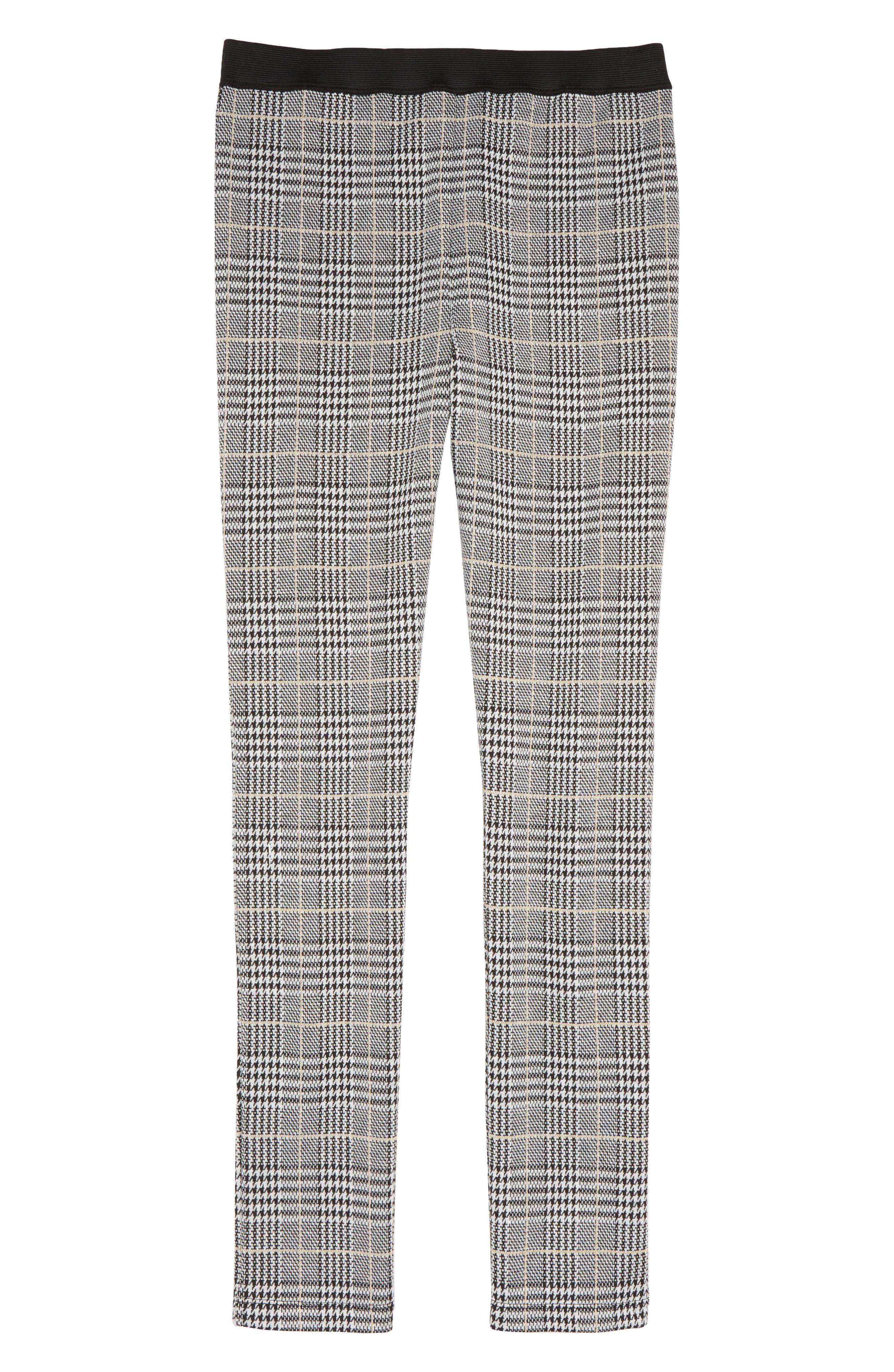 Lani Knit Pull On Pants,                             Main thumbnail 1, color,                             CHECK
