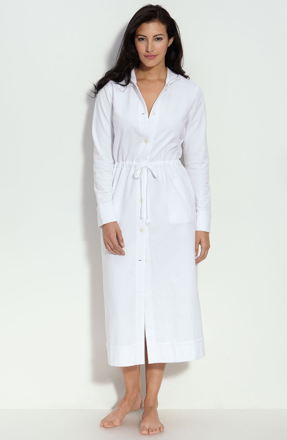 Hooded Lounge Robe, Main, color, 100