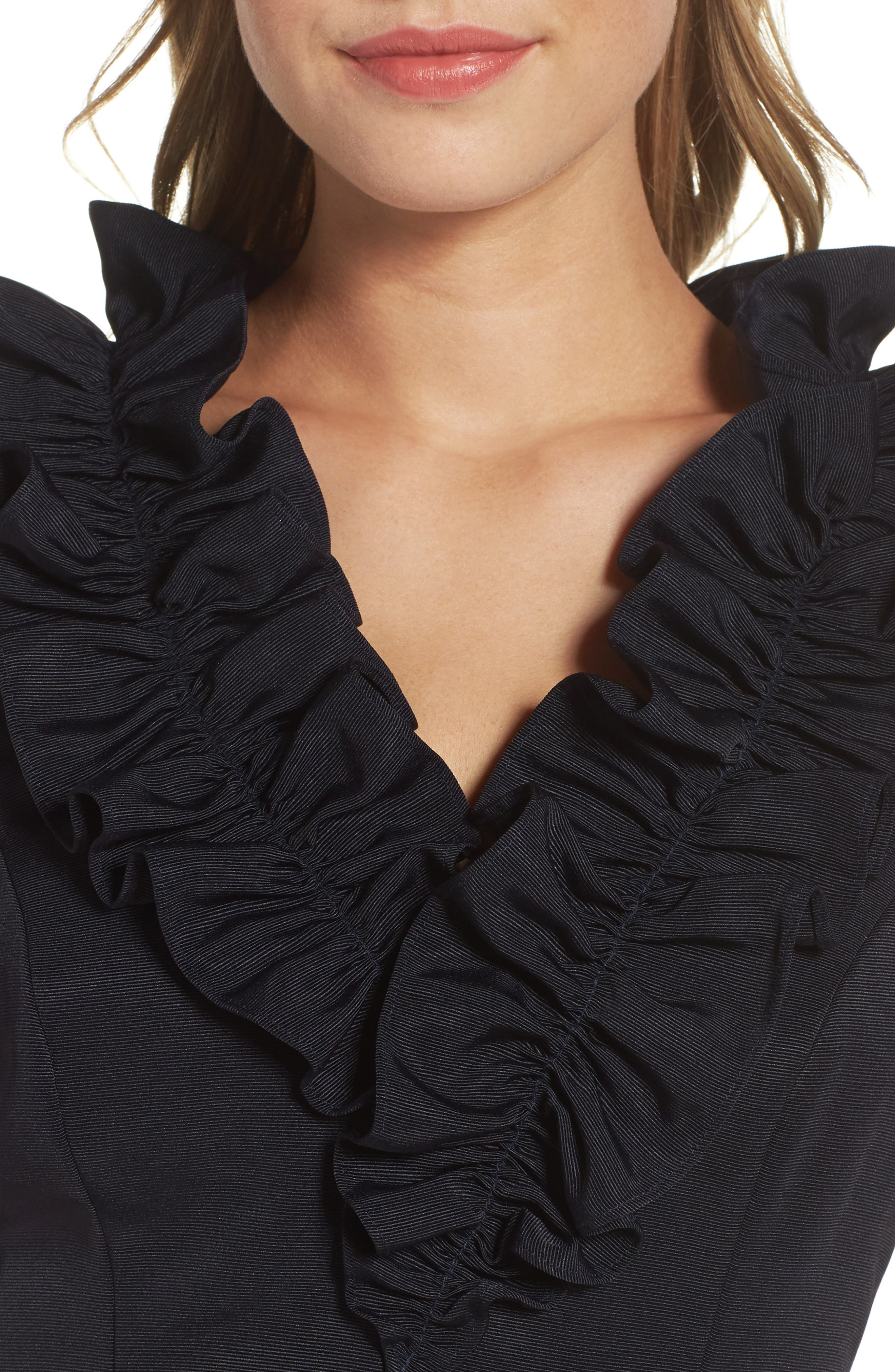 Fit & Flare Dress,                             Alternate thumbnail 4, color,                             410