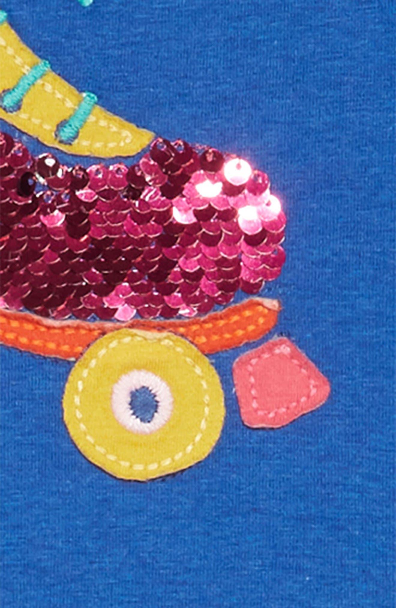 Color Change Sequin Skater Dress,                             Alternate thumbnail 3, color,                             424