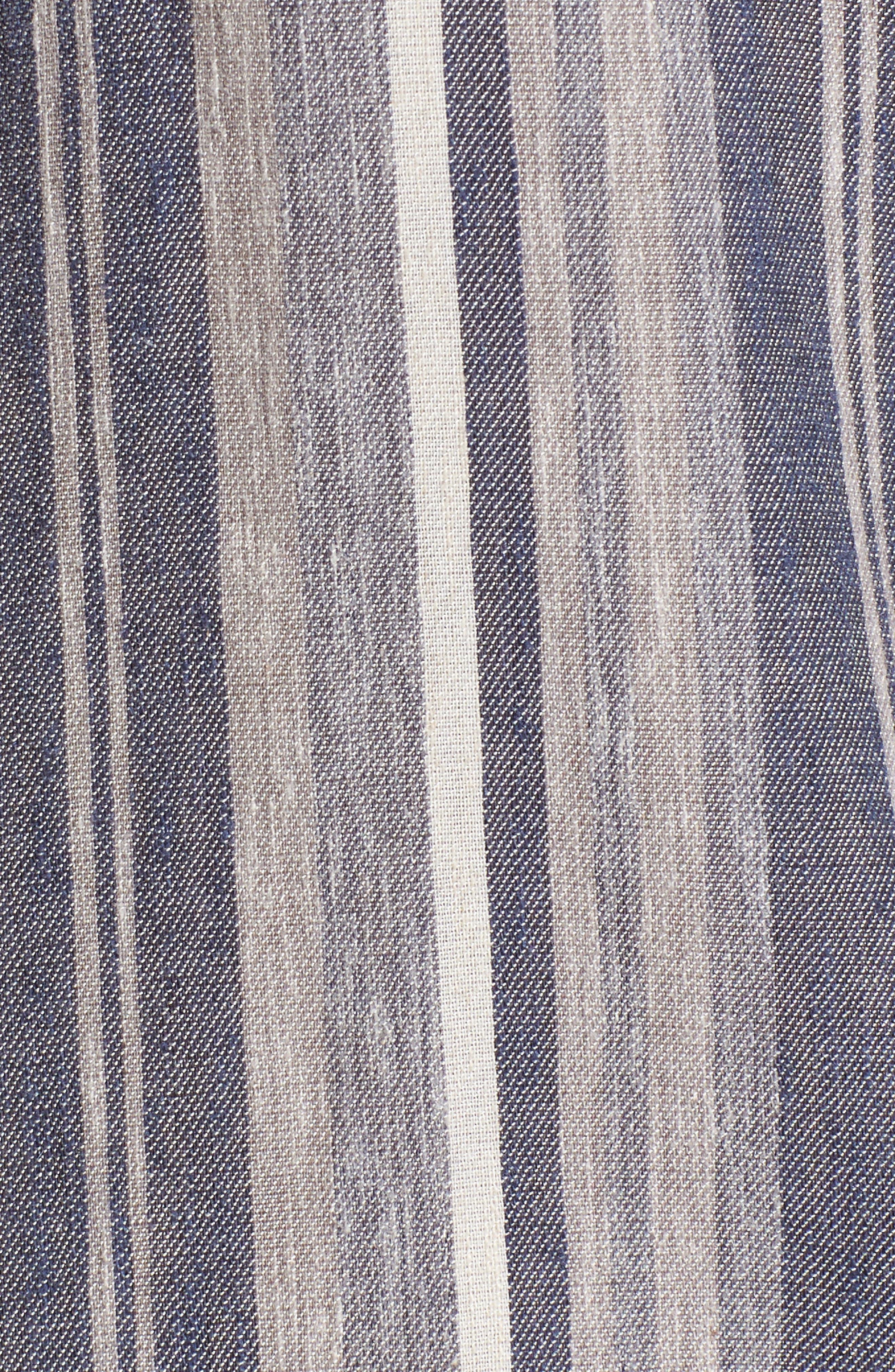 Stripe Chambray Shirt,                             Alternate thumbnail 5, color,                             466