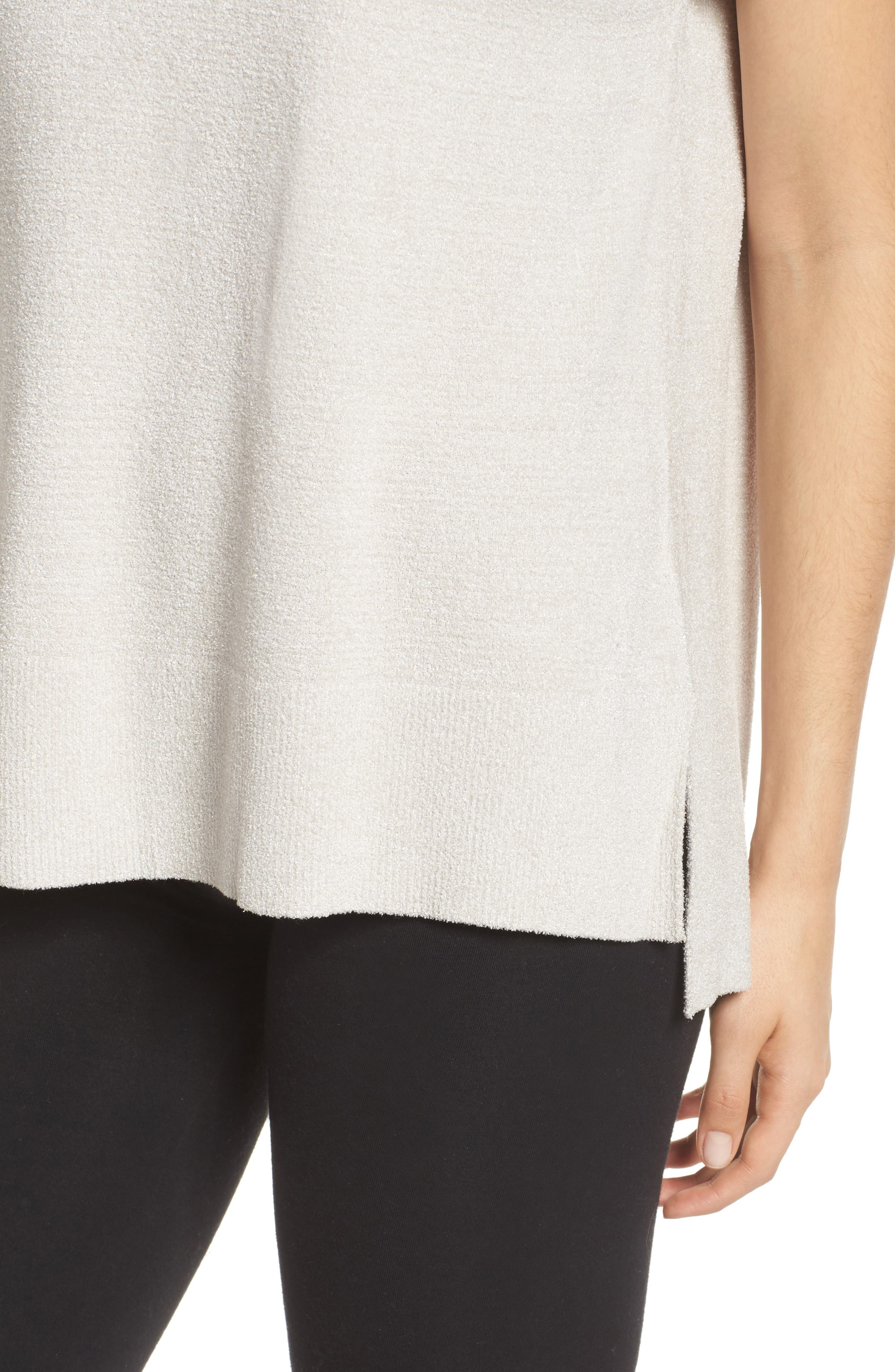 CozyChic Ultra Lite<sup>®</sup> Lounge Tee,                             Alternate thumbnail 4, color,                             FOG GRAY
