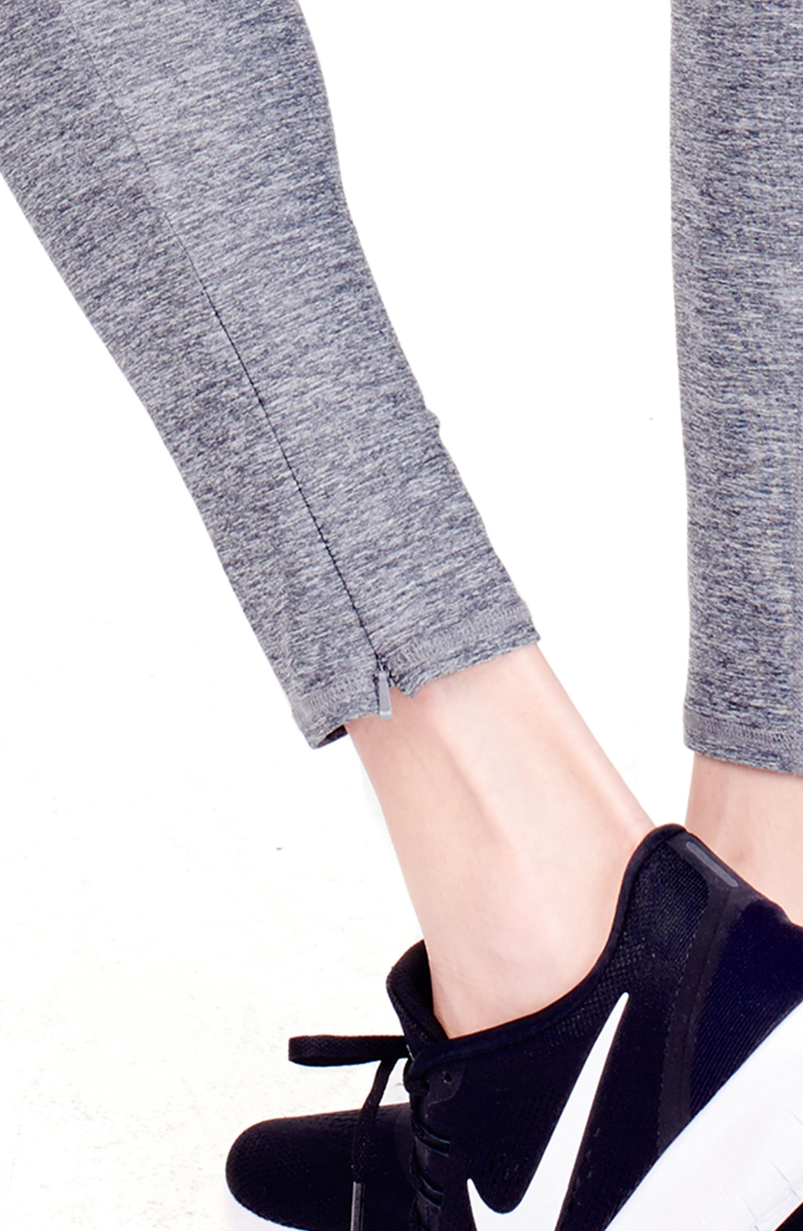 'Active' Maternity Leggings with Crossover Panel,                             Alternate thumbnail 14, color,