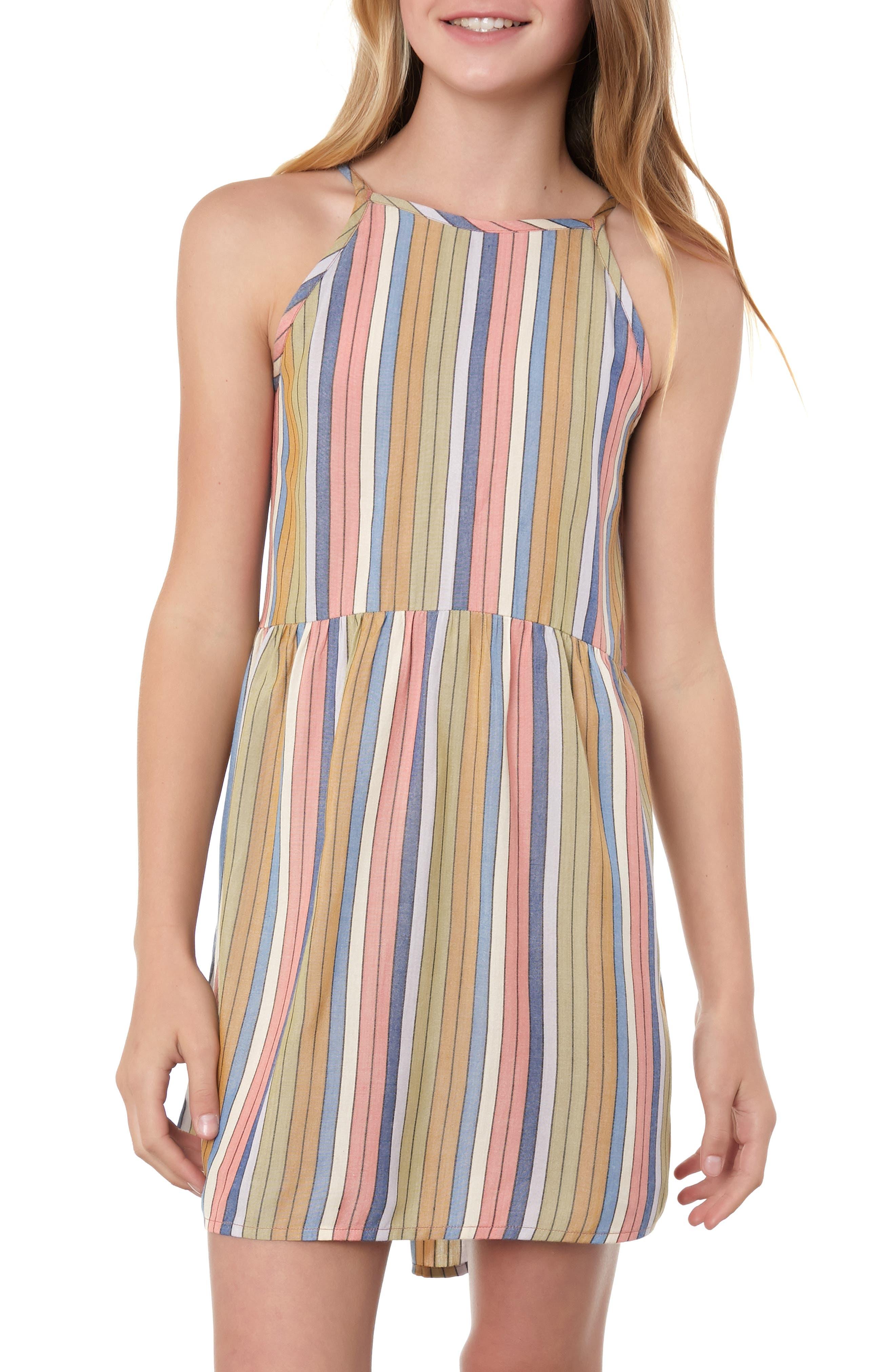 O'NEILL,                             Berlin Stripe Sundress,                             Alternate thumbnail 2, color,                             MULTI COLORED